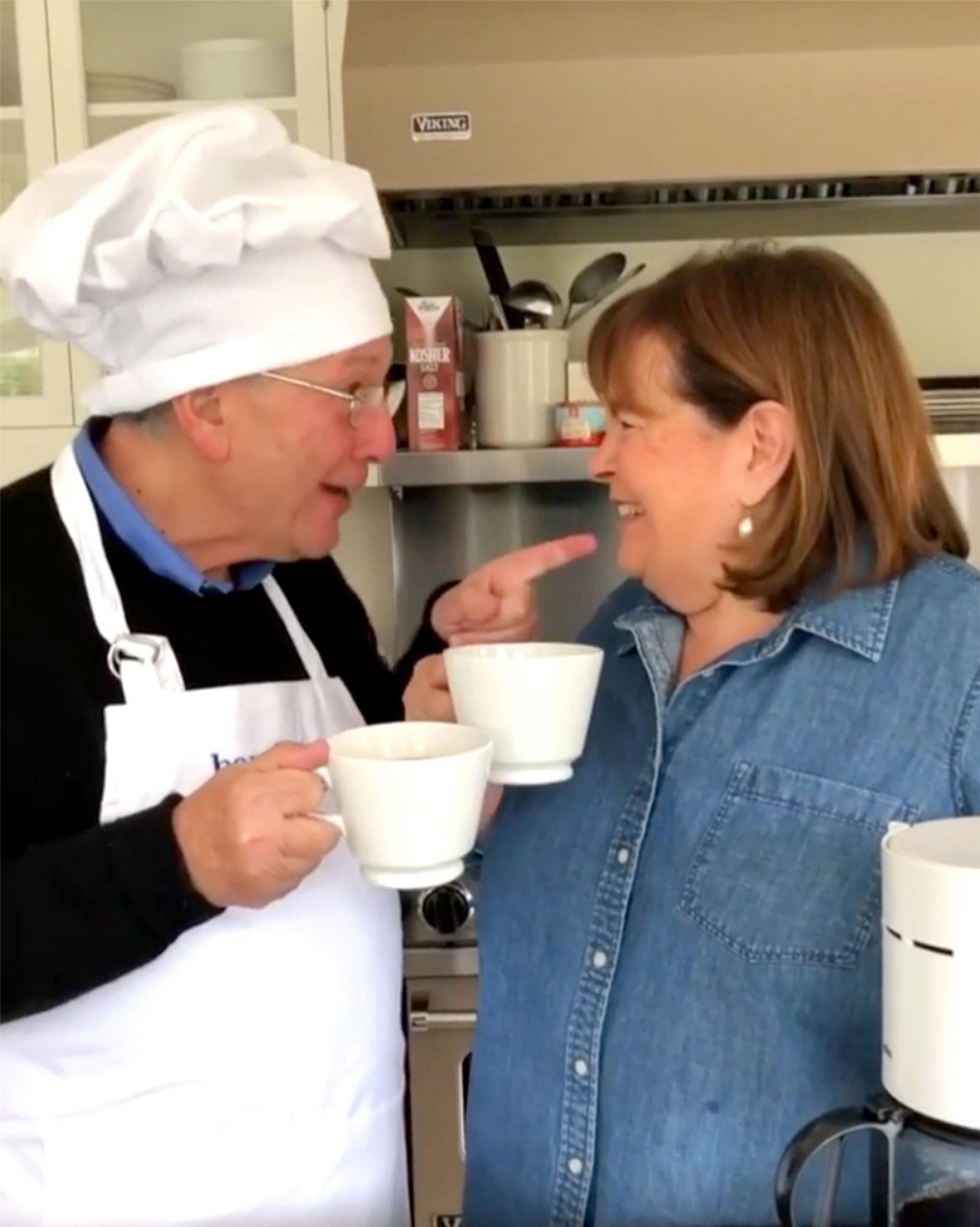 Ina Garten's Husband 'Chef Jeffrey' Adorably Shows How to Make 'the Perfect Cup of Coffee'