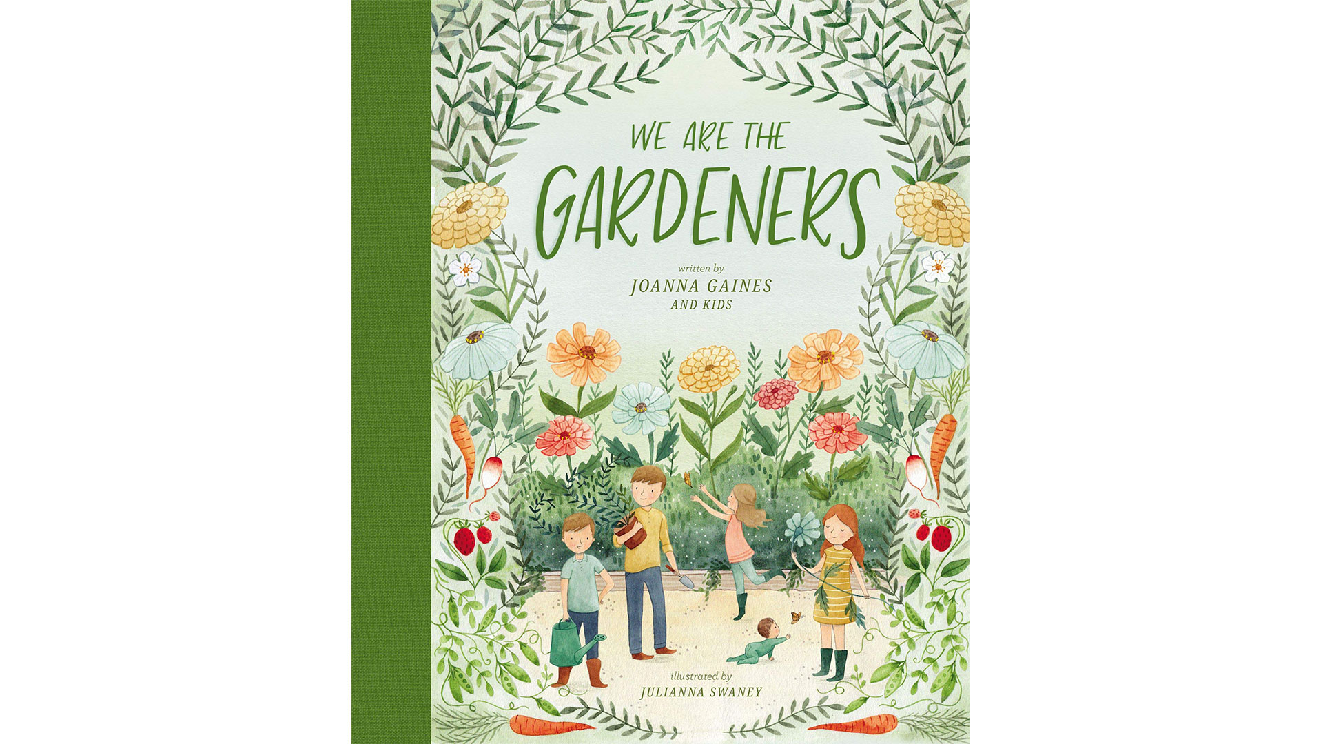 Joanna Gaines Children's Book We Are the Gardeners