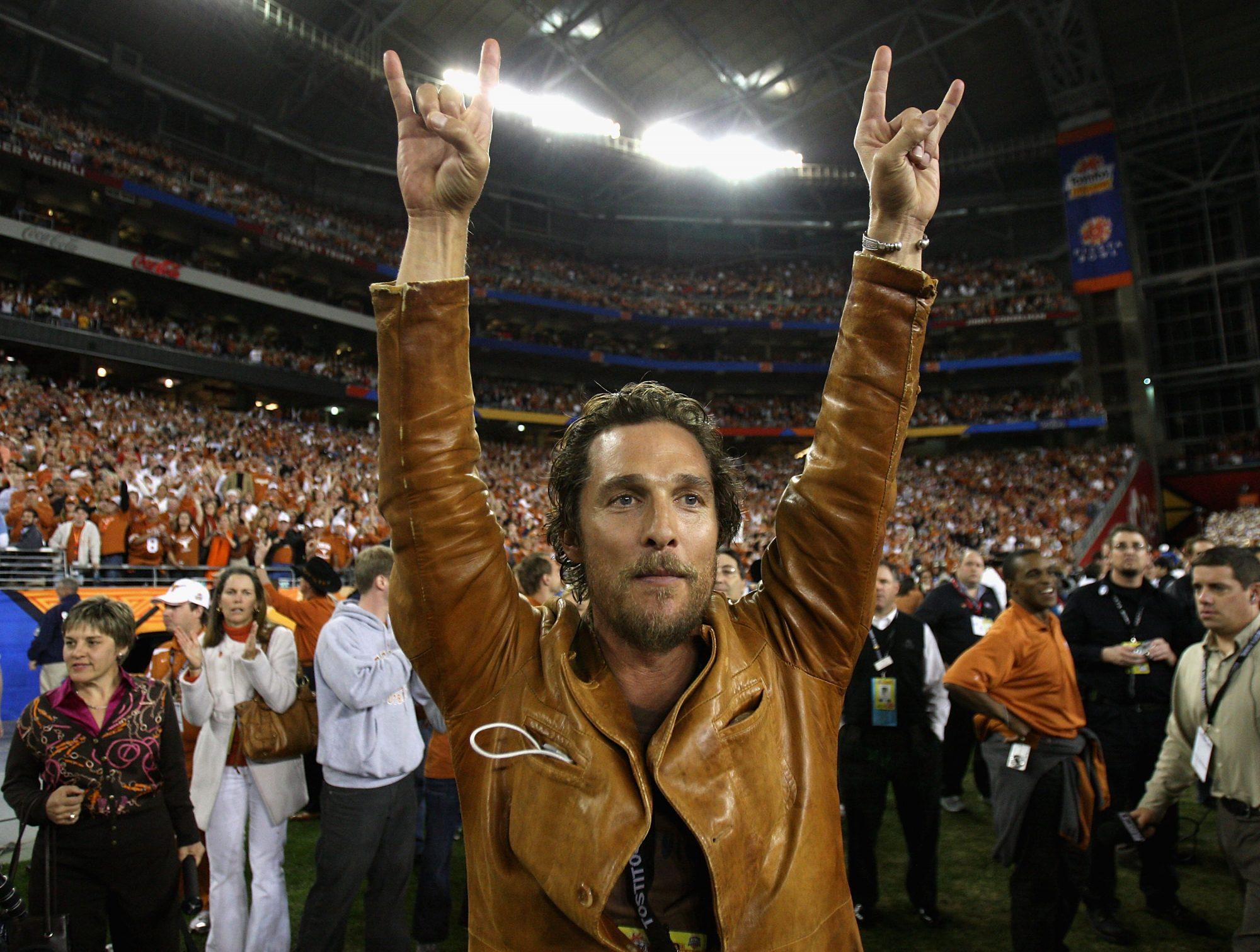 """Matthew McConaughey to Serve as """"Minister of Culture"""" for New University of Texas Stadium"""