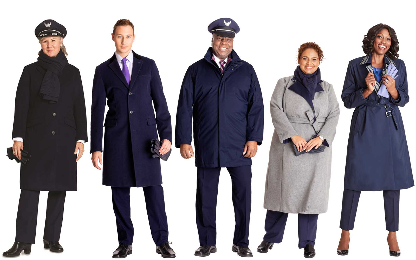 United Airlines New Uniforms