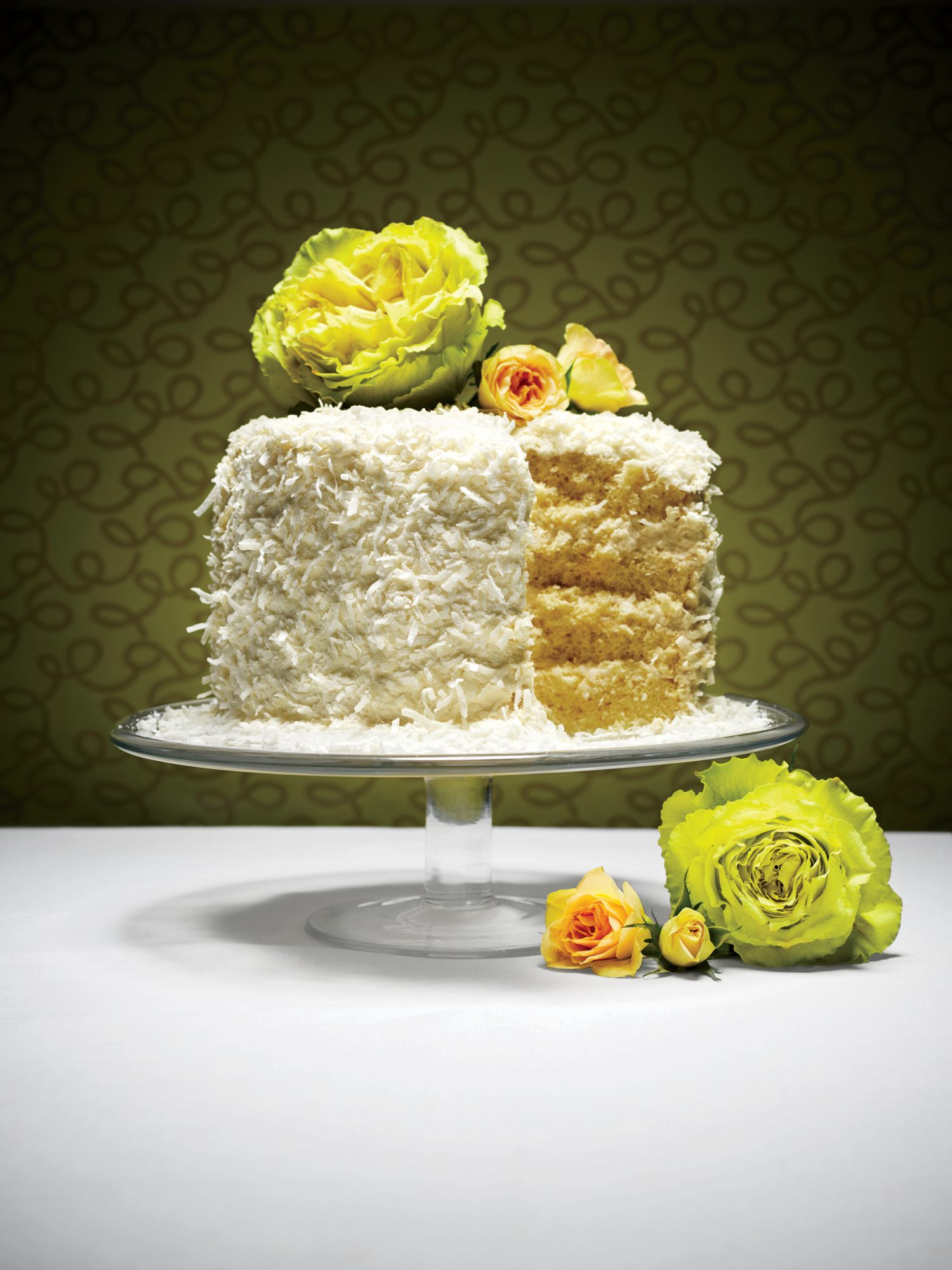 The Coconut Chiffon Cake Recipe | MyRecipes