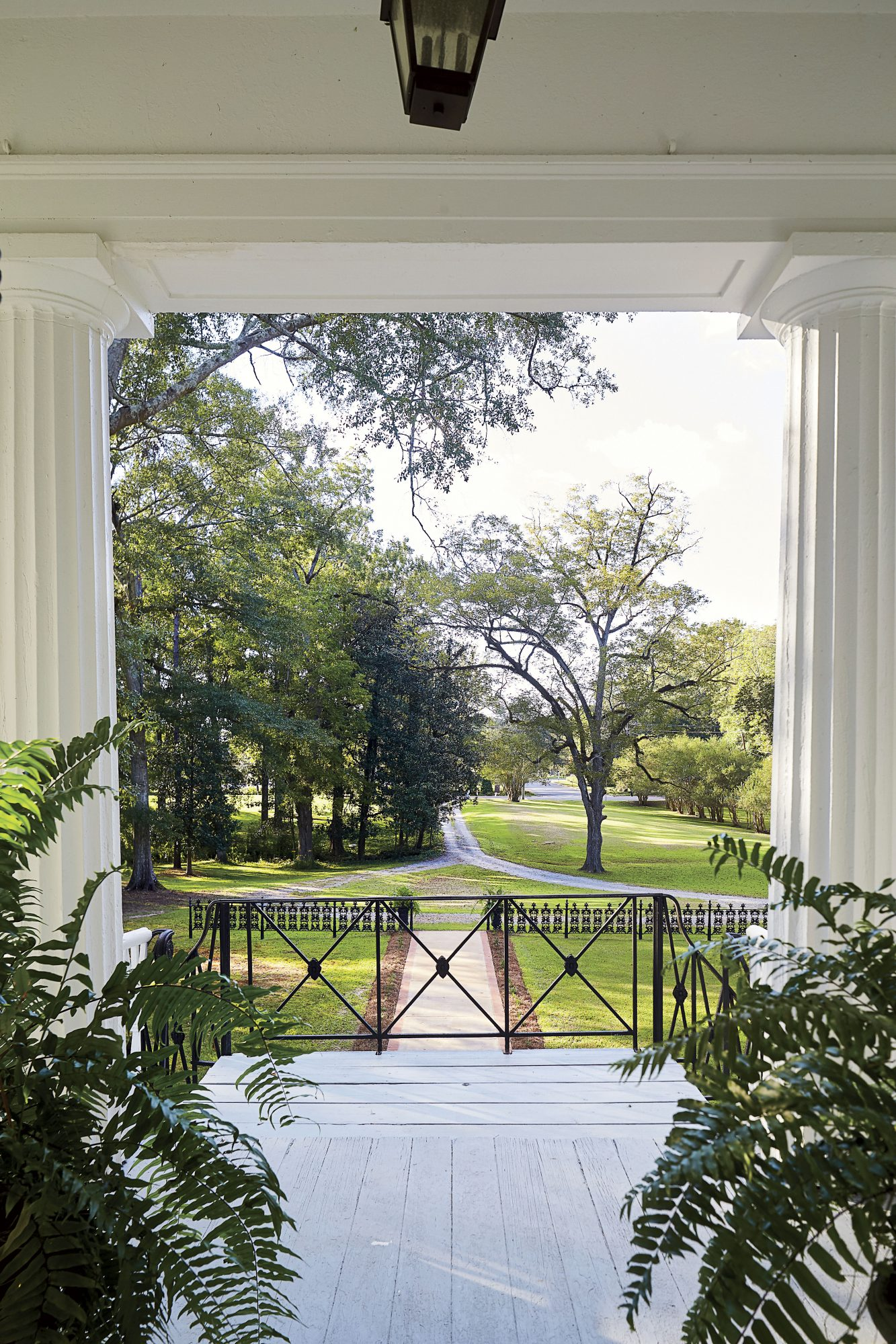 Sidney Collins Freeman Front Porch View