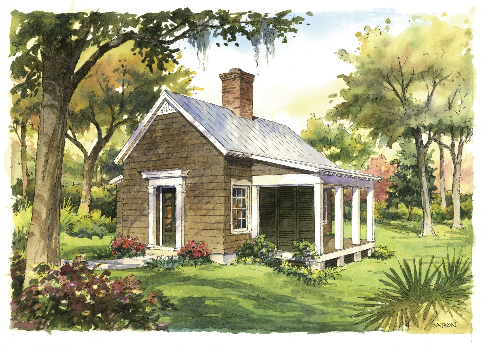 Garden Cottage House Plan