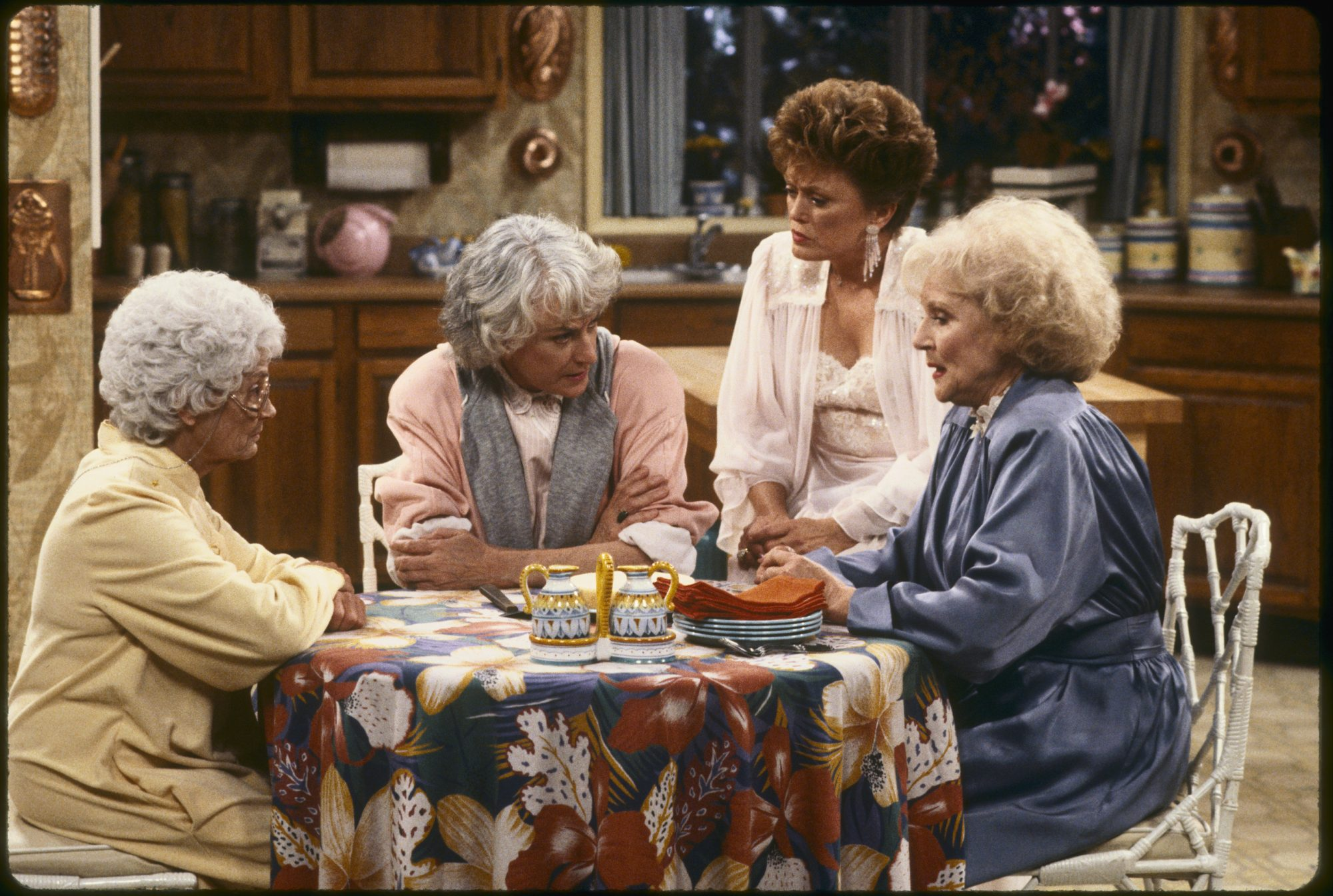Golden Girls at Table