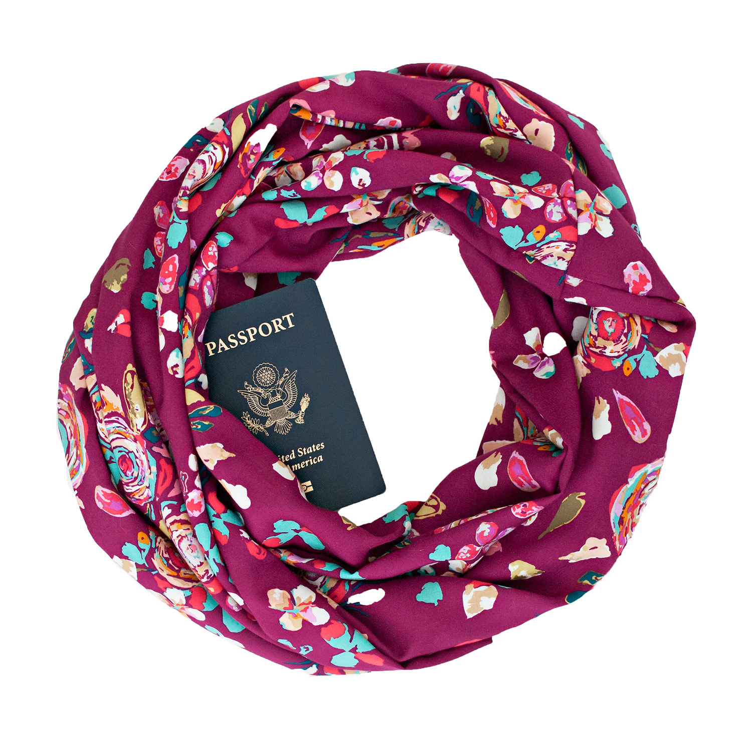 Speakeasy Travel Scarf