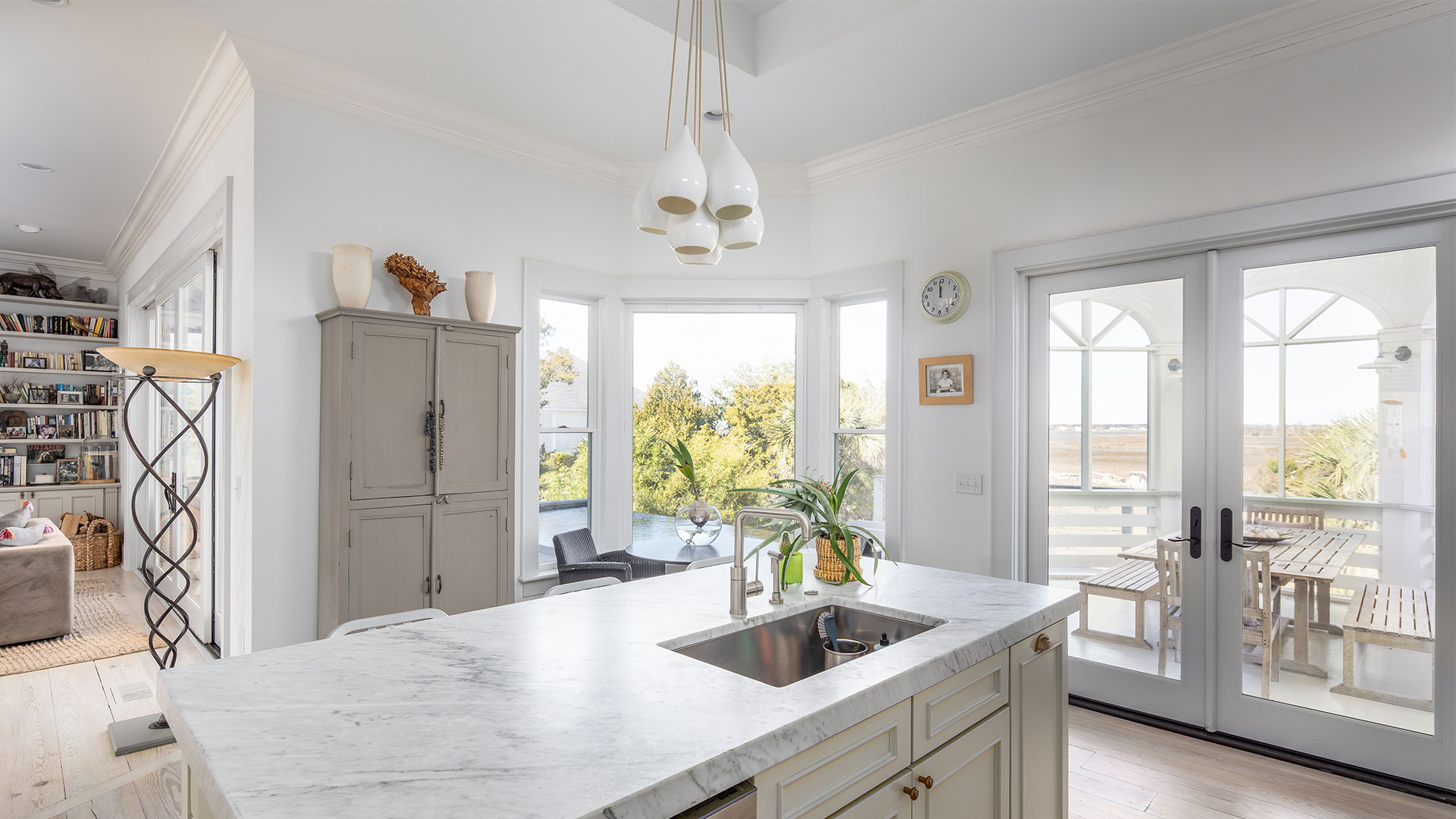 Thompson Avenue Sullivans Island Kitchen Doors