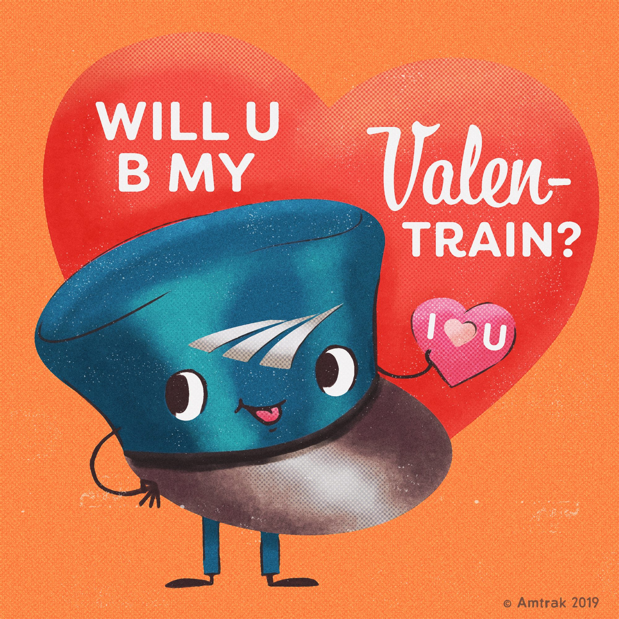 Amtrak Valentine's Day Sale 1