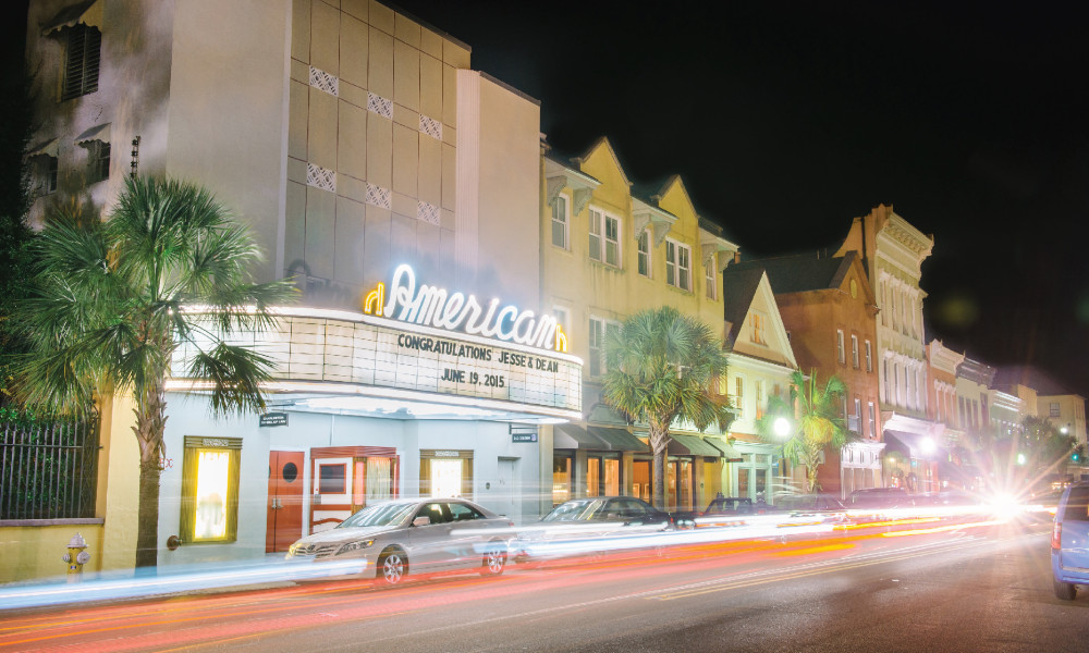 The American Theater in Charleston, SC