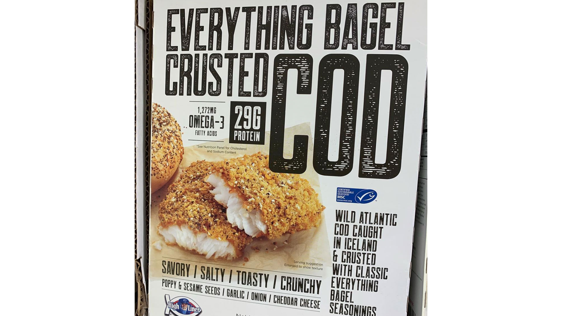 Costco Everything-Bagel-Crusted Cod Fillets