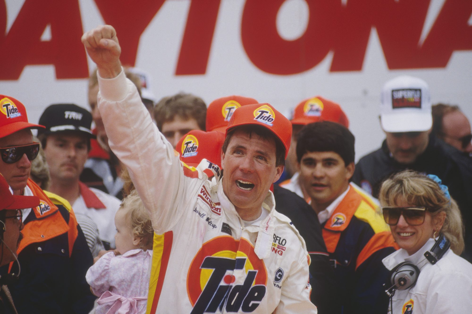 Darrell Waltrip Wins Daytona 500