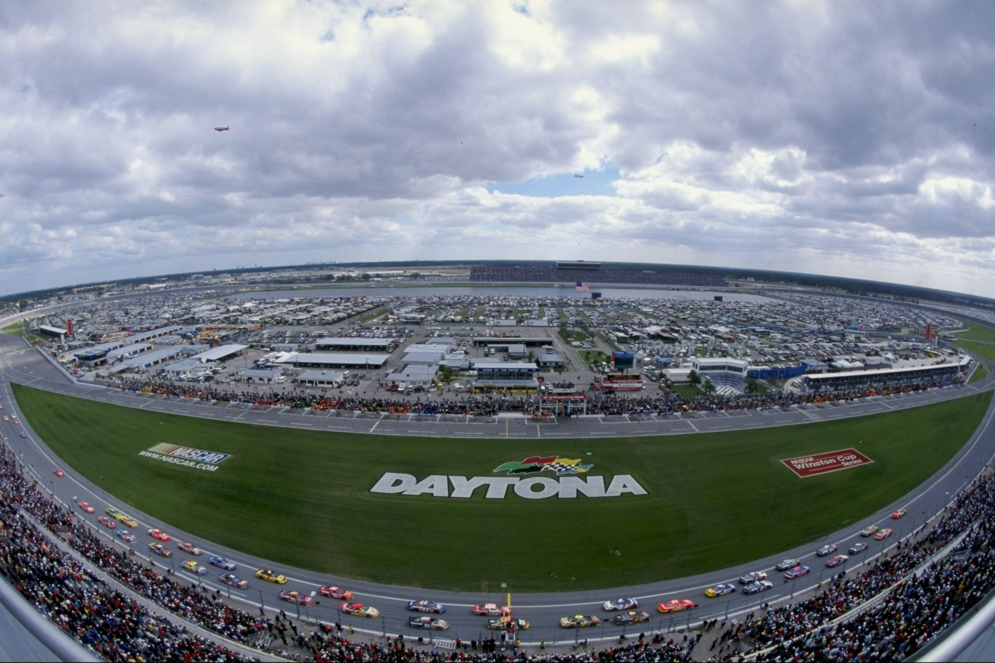 Daytona International Speedway Aerial Shot