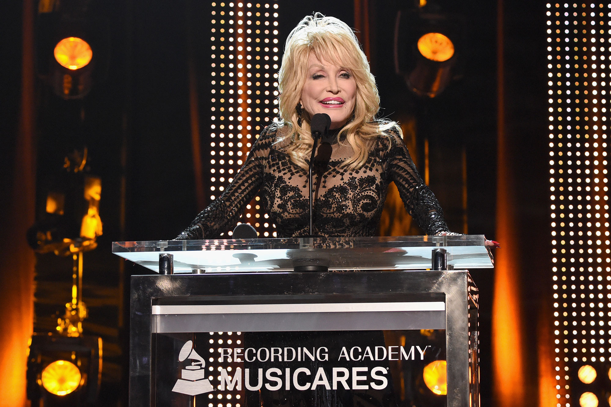 Katy Perry, Miley Cyrus, Garth Brooks, Willie Nelson, and more pay tribute to Dolly Parton at MusiCares 2019 Person of the Year