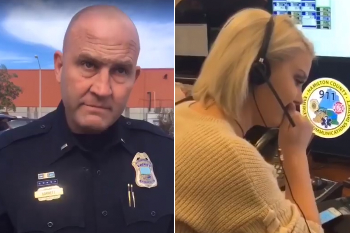 Tennessee Police Officer Shares Emotional Final Call with Dispatcher Daughter Before Retirement father-daughter