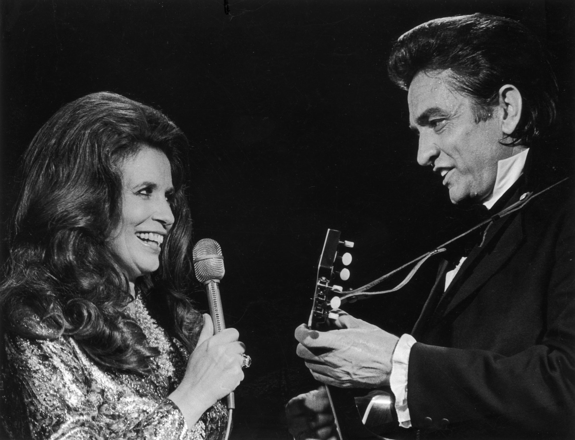 Johnny Cash and June Carter 1975