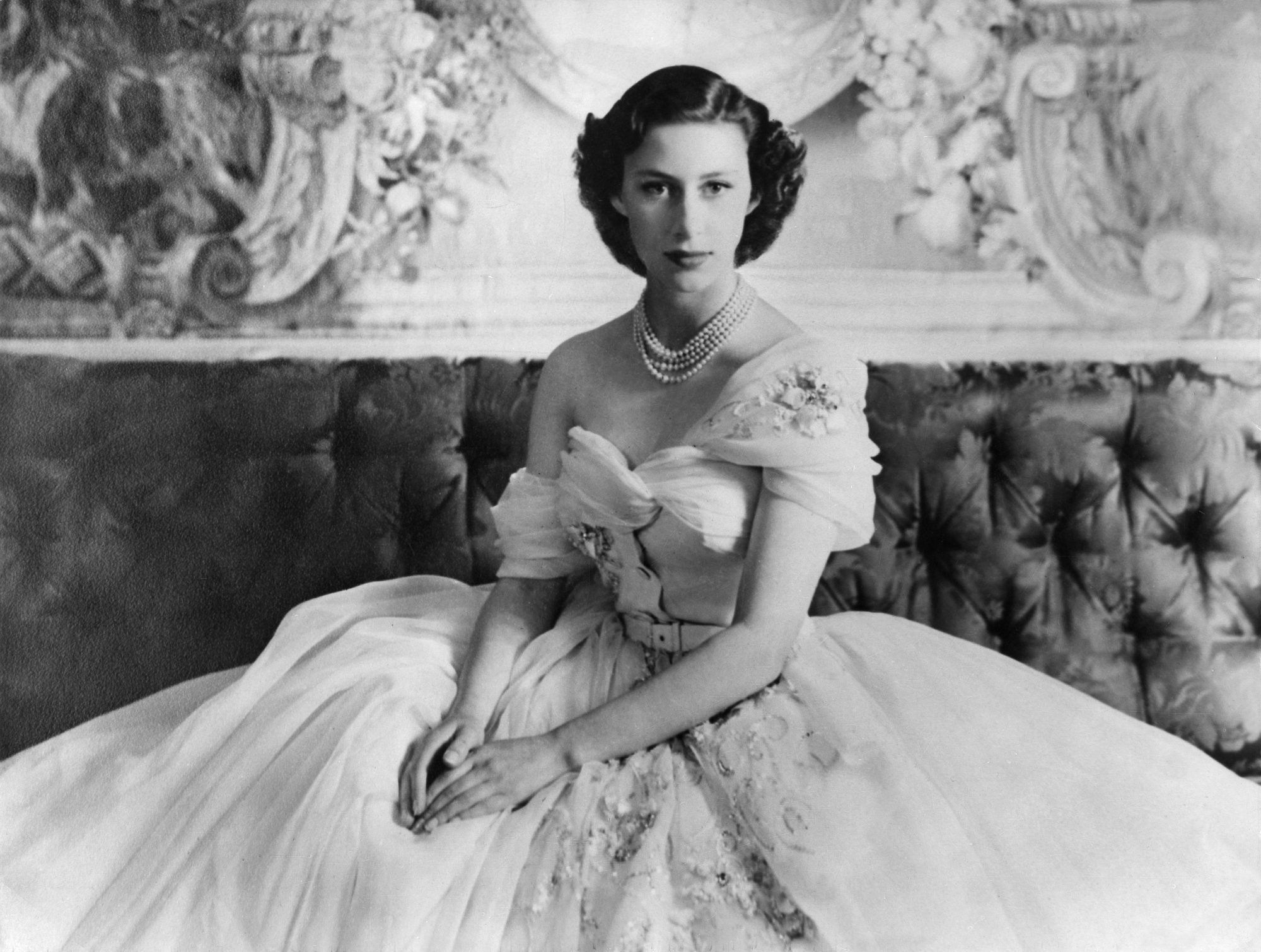 Princess Margaret on her 21st Birthday