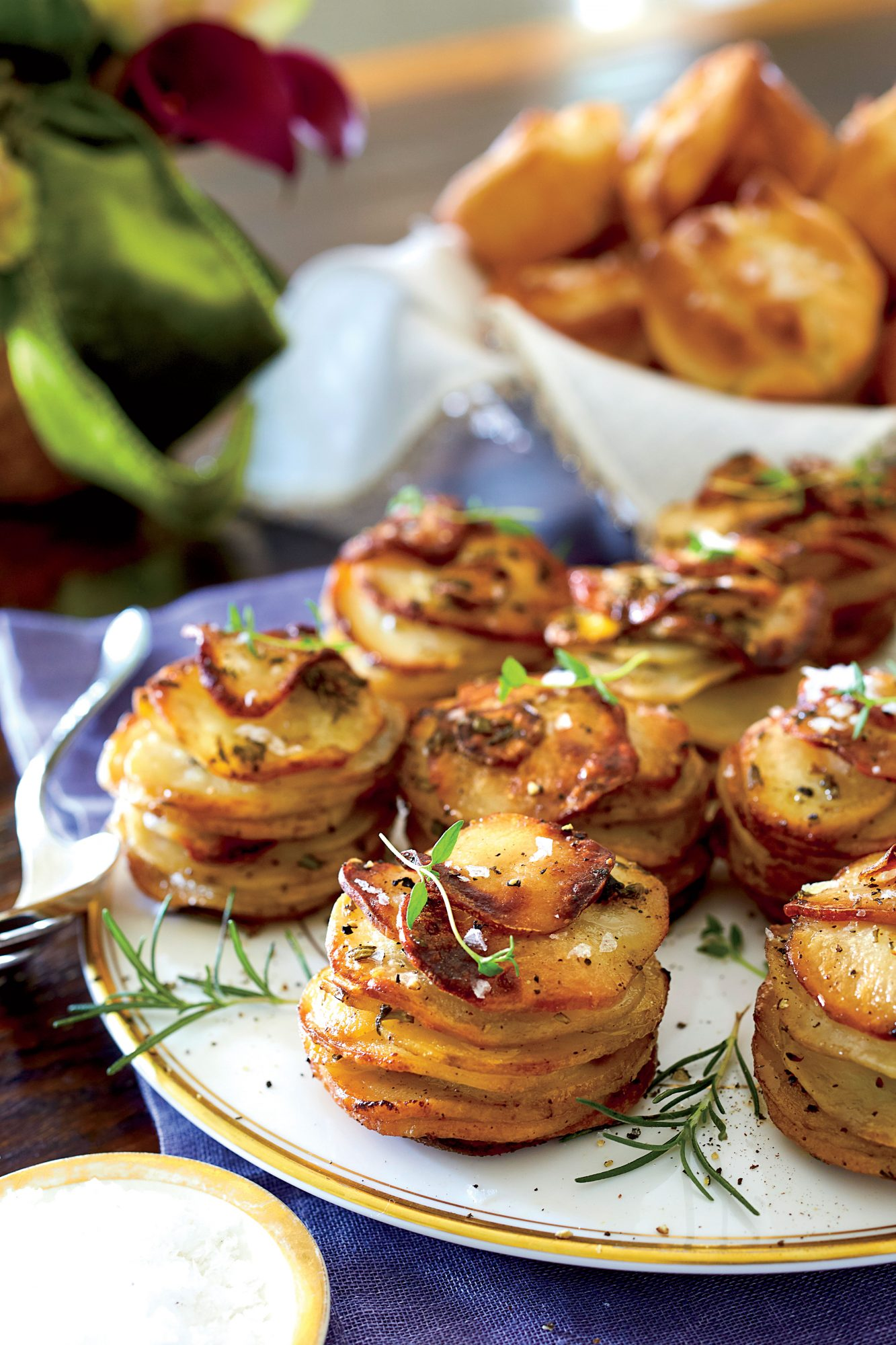 Garnish from potatoes will help in any case