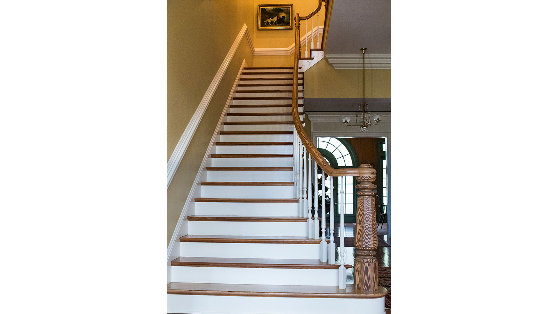 Oak Hill Plantation Staircase