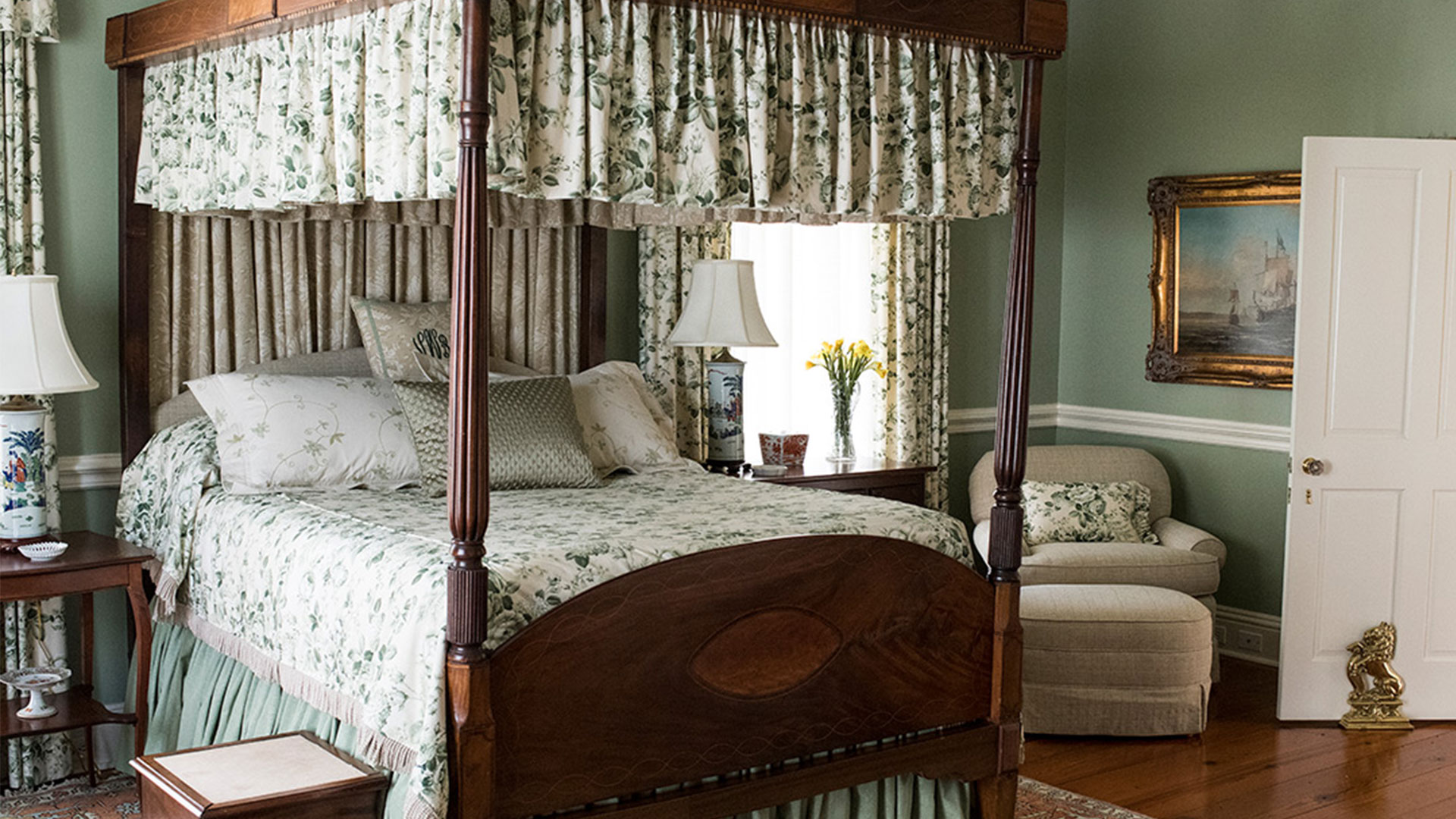 Oak Hill Plantation Master Bedroom