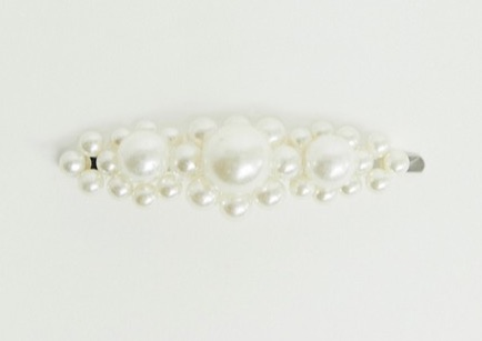 Pearl Cluster Hair Slide