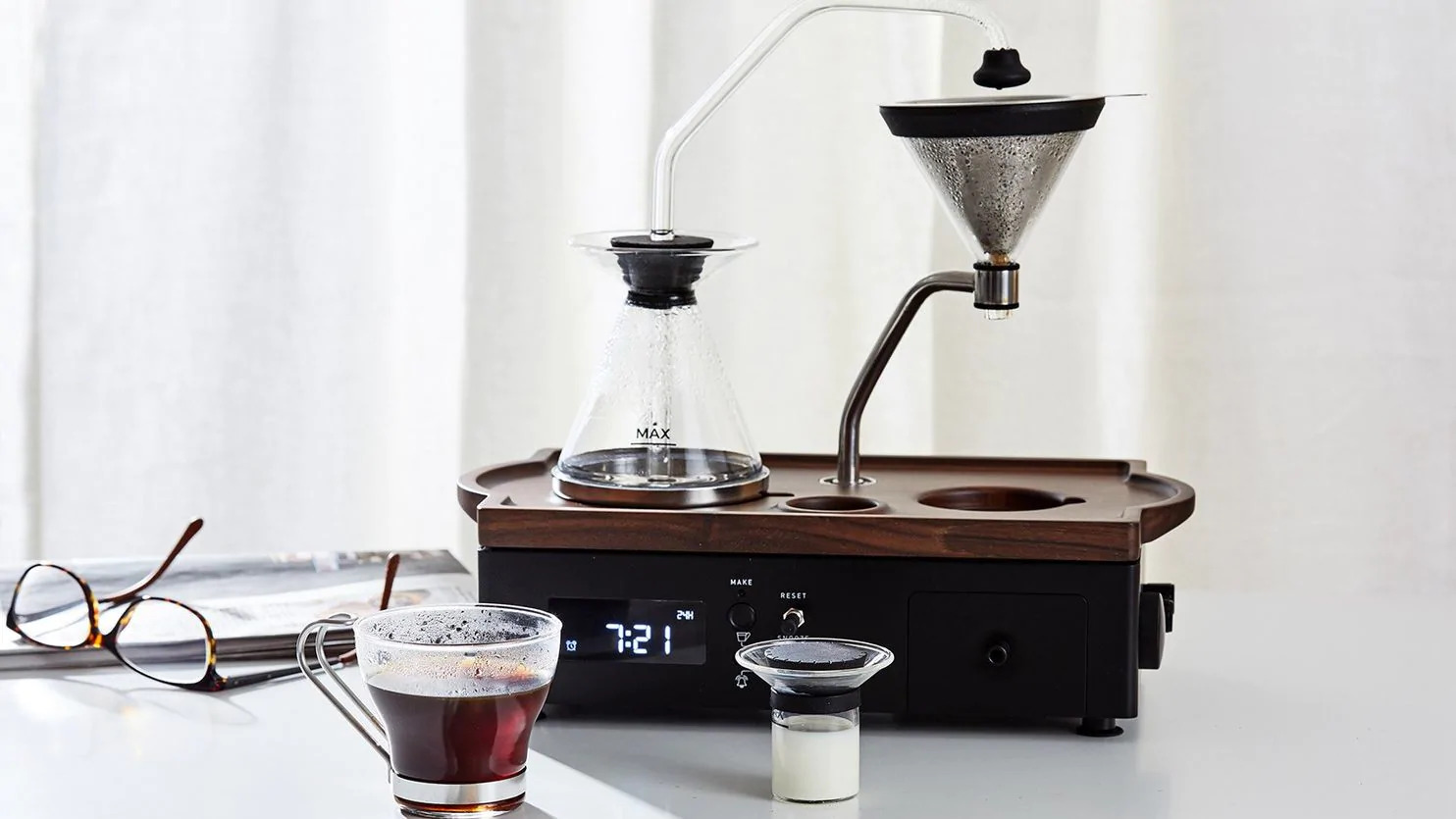 This Coffee Brewer Alarm Clock Is the Stuff (Very Caffeinated) Dreams Are Made Of
