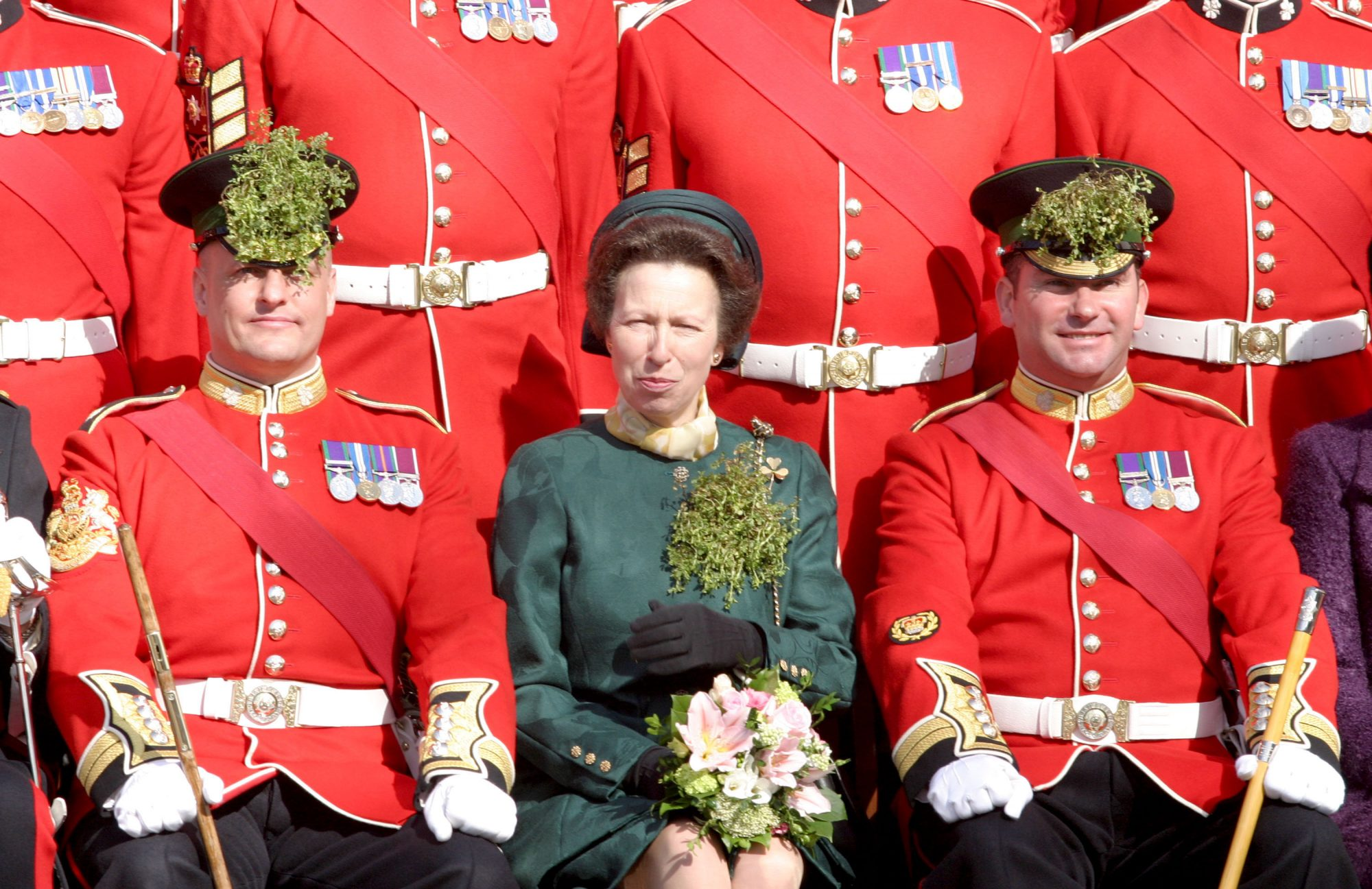 Princess Anne Shamrock Brooch