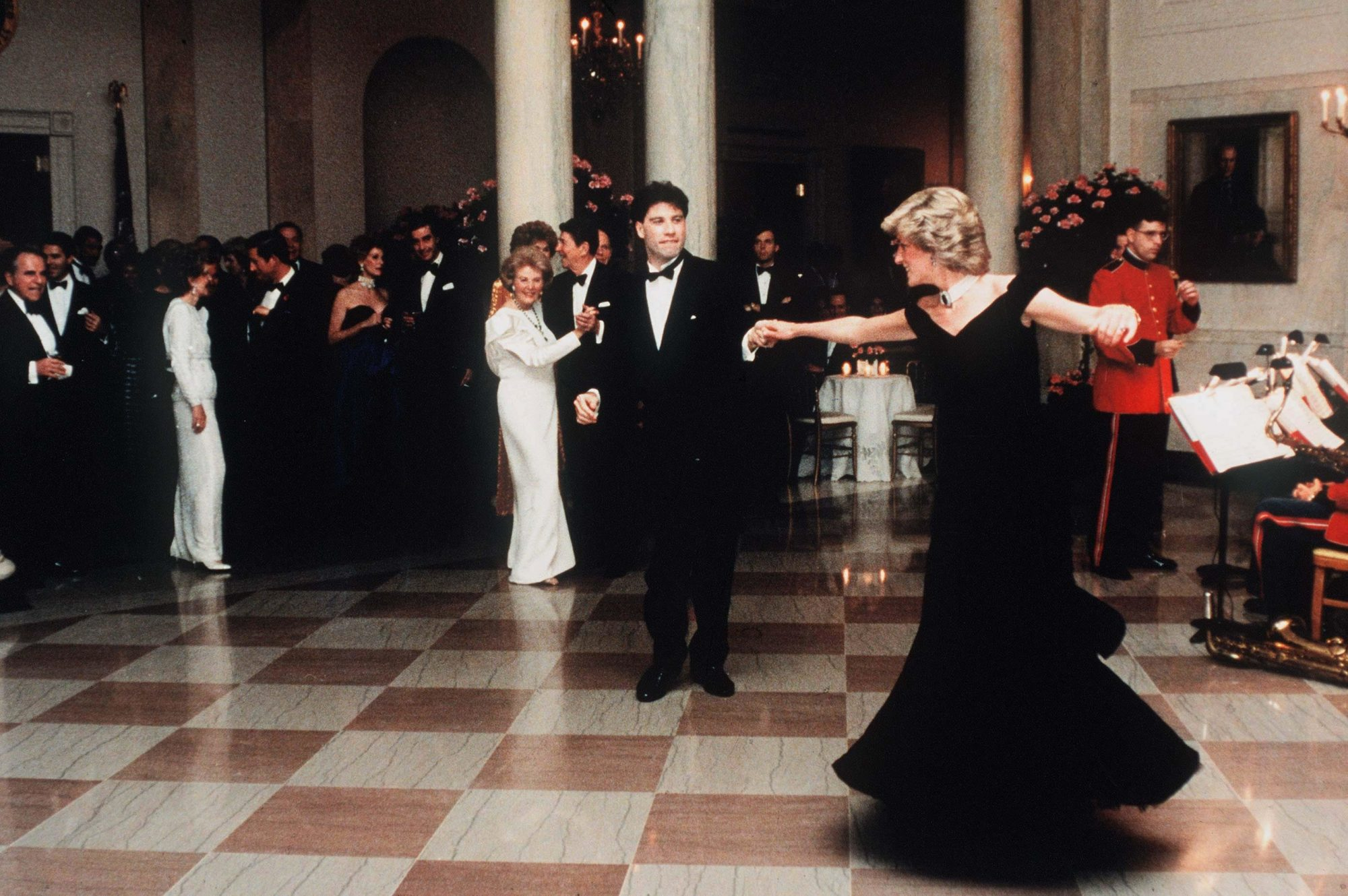 What John Travolta Was Thinking During His Famed Dance with Princess Diana at The White House