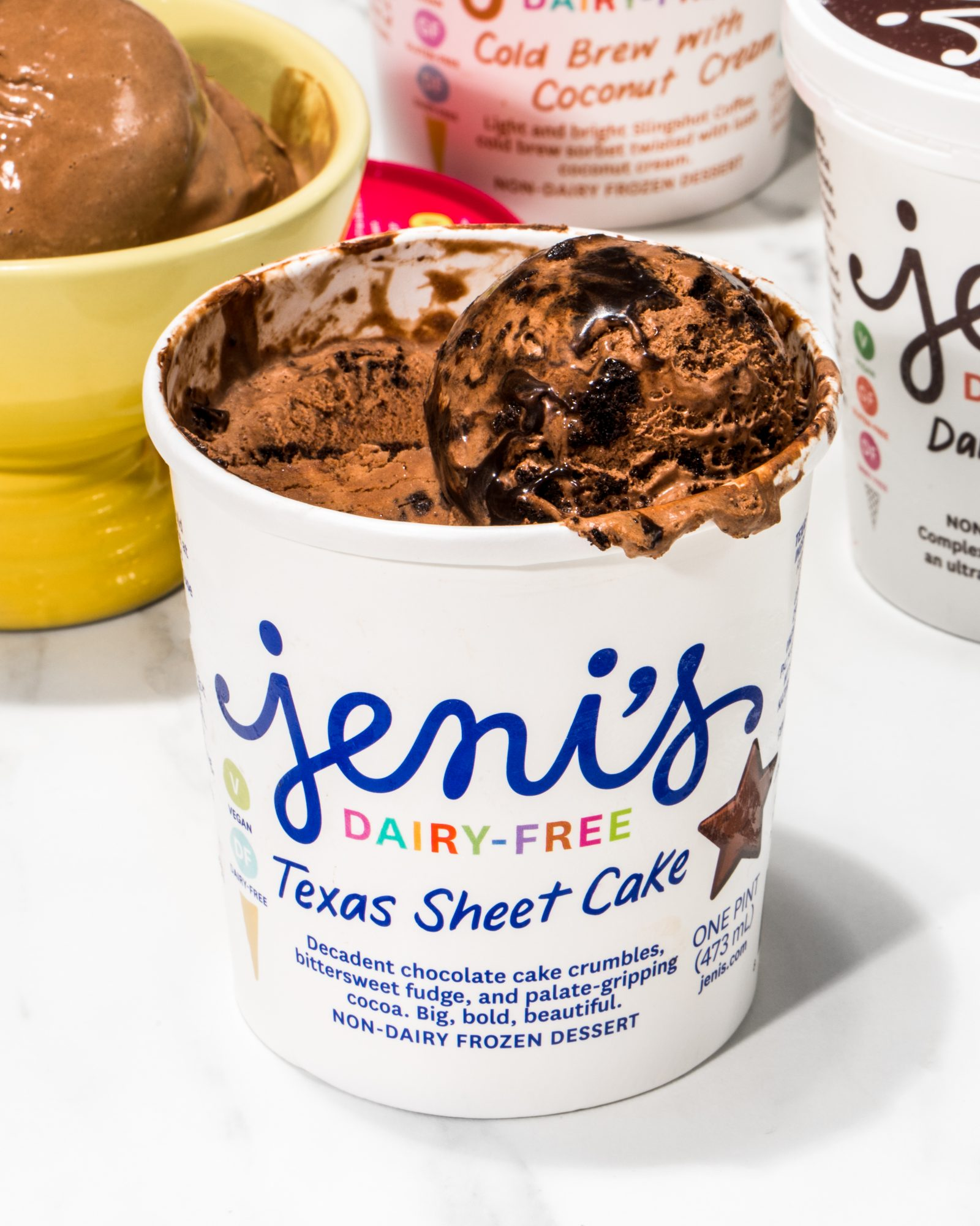 Jeni's Splendid Ice Creams Texas Sheet Cake Ice Cream
