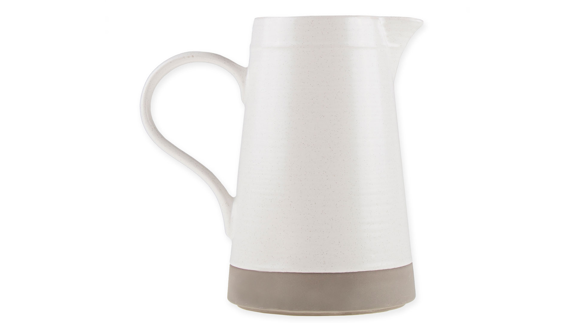Milbrook Pitcher in Coconut White