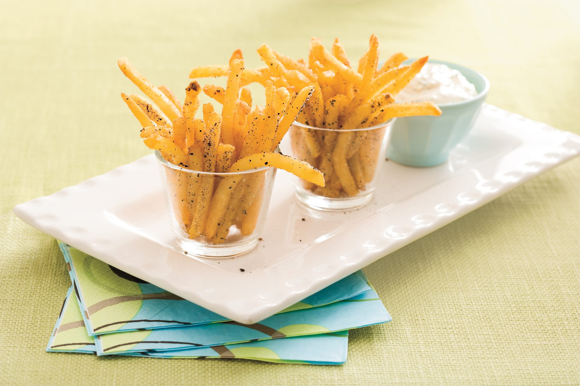Salt-and-Pepper Oven Fries