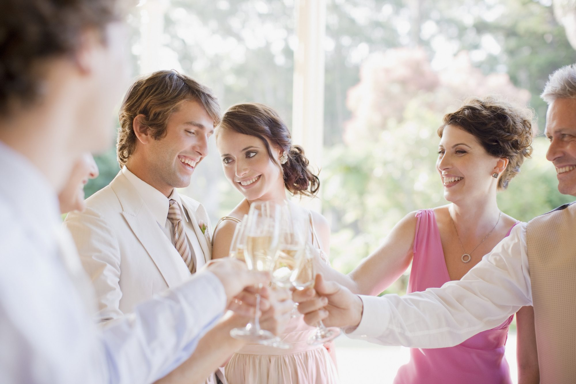 Toasting at Event