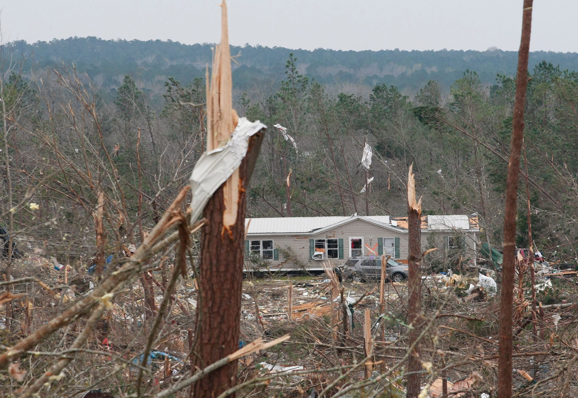 Beauregard Alabama Tornado