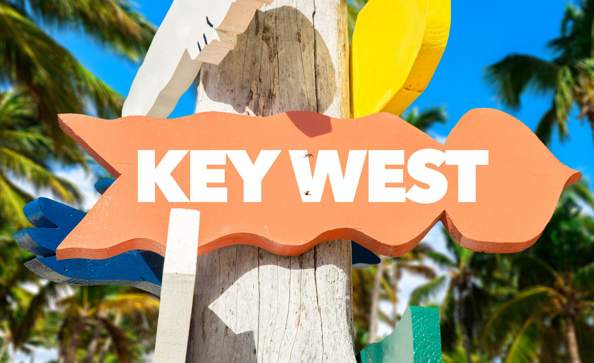 Key West Directional Sign