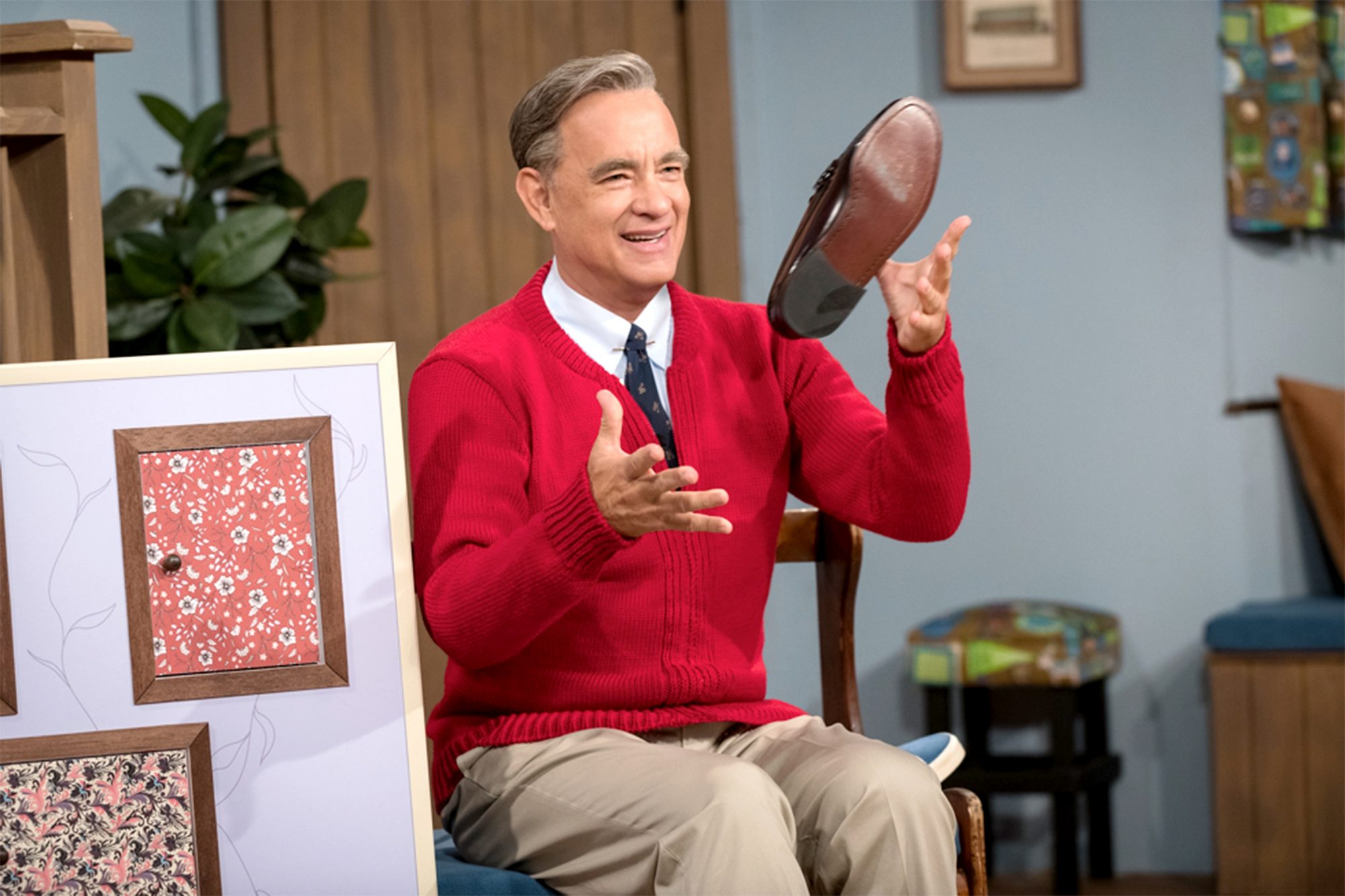 Tom Hanks Looks Just Like Mr. Rogers in New Photo from A Beautiful Day in the Neighborhood image001-copy
