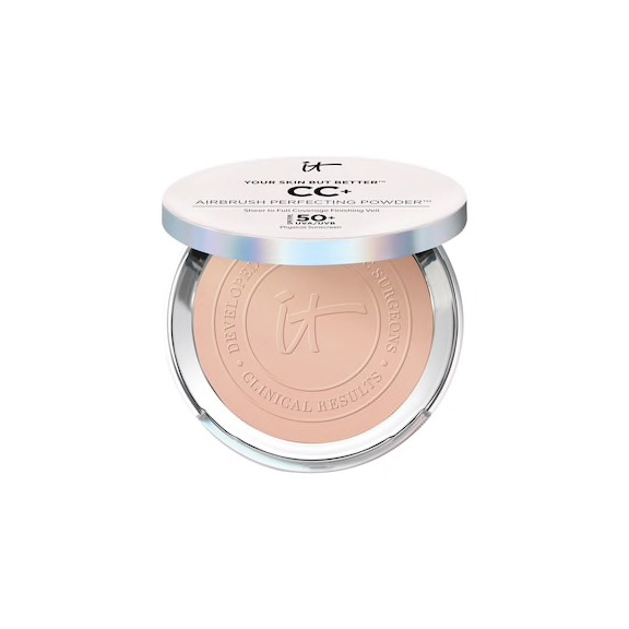 IT Cosmetics Your Skin But Better CC+ Airbrush Perfecting Powder with SPF 50+