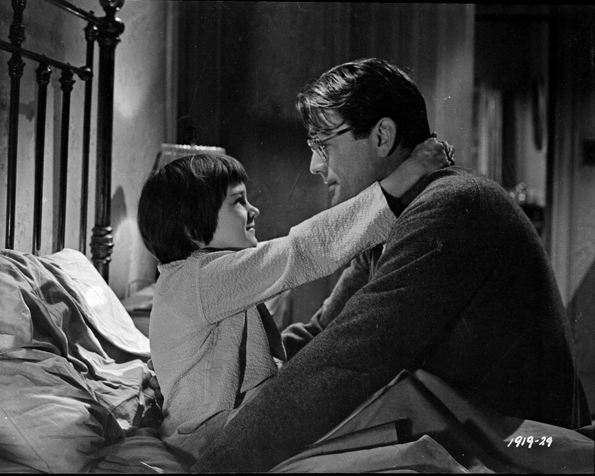 Mary Badham and Gregory Peck To Kill a Mockingbird
