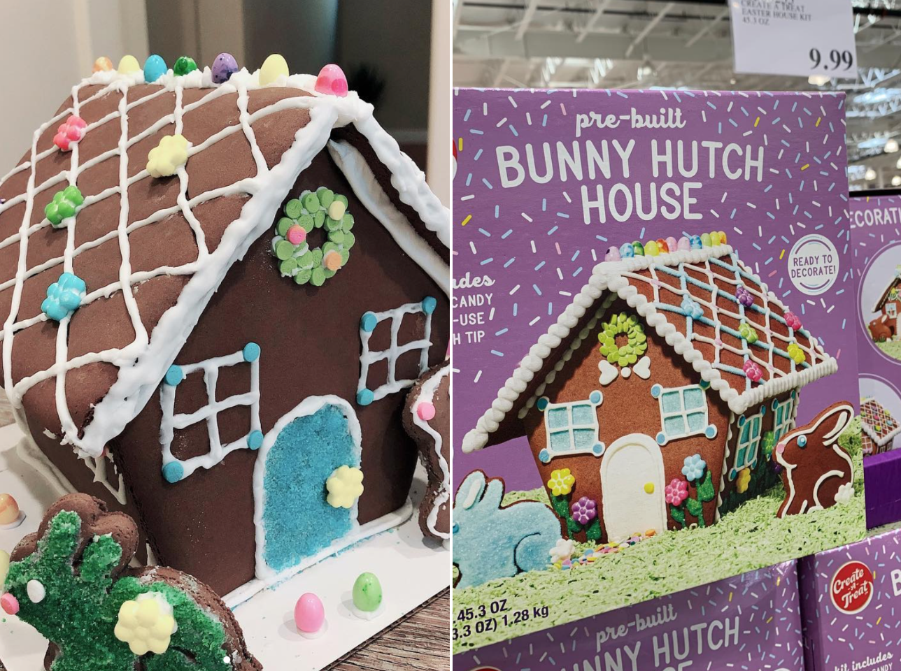 Costco Is Selling Cookie Bunny Hutches for Easter