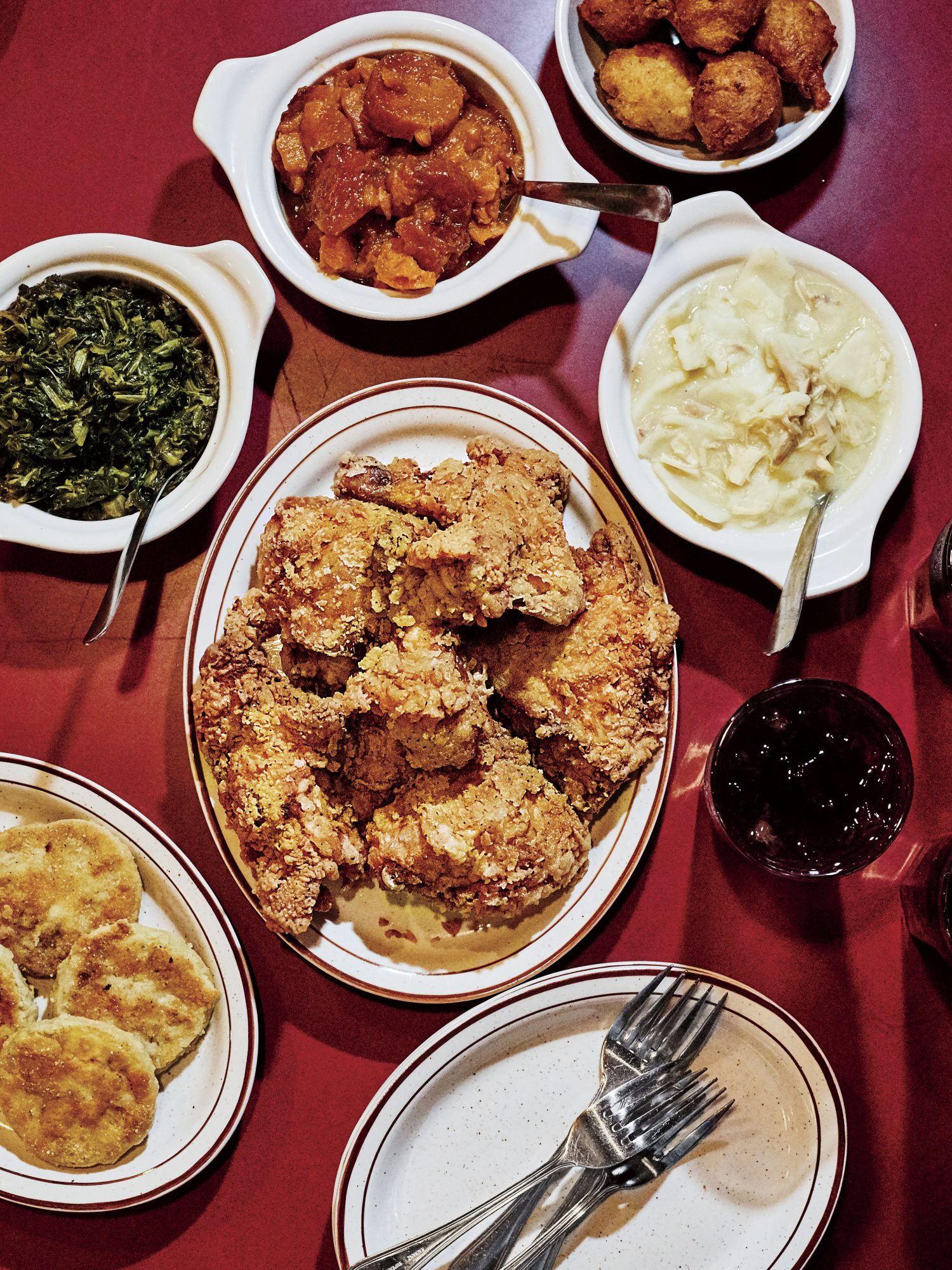 Mama Dip's Famous Fried Chicken