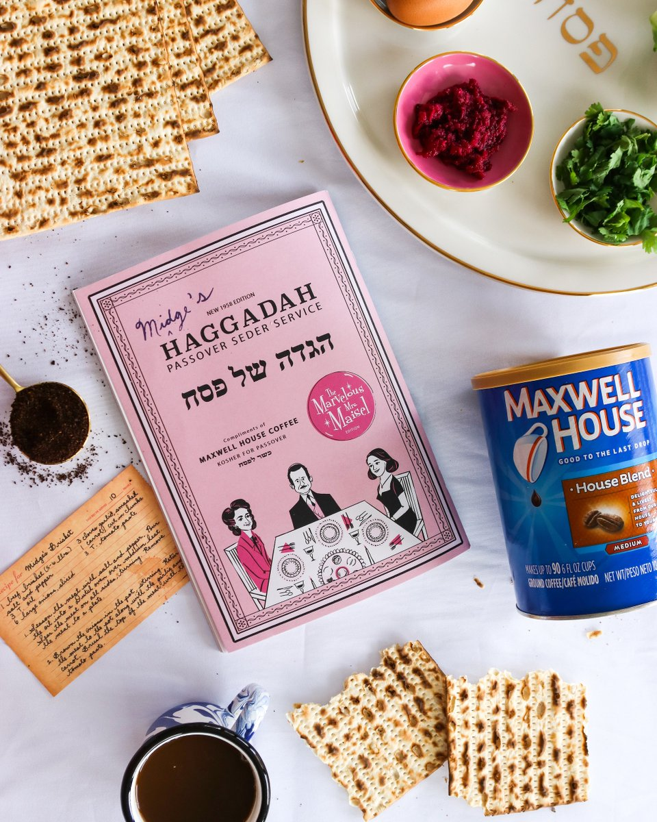 Maxwell House Marvelous Mrs. Maisel Passover Haggadah