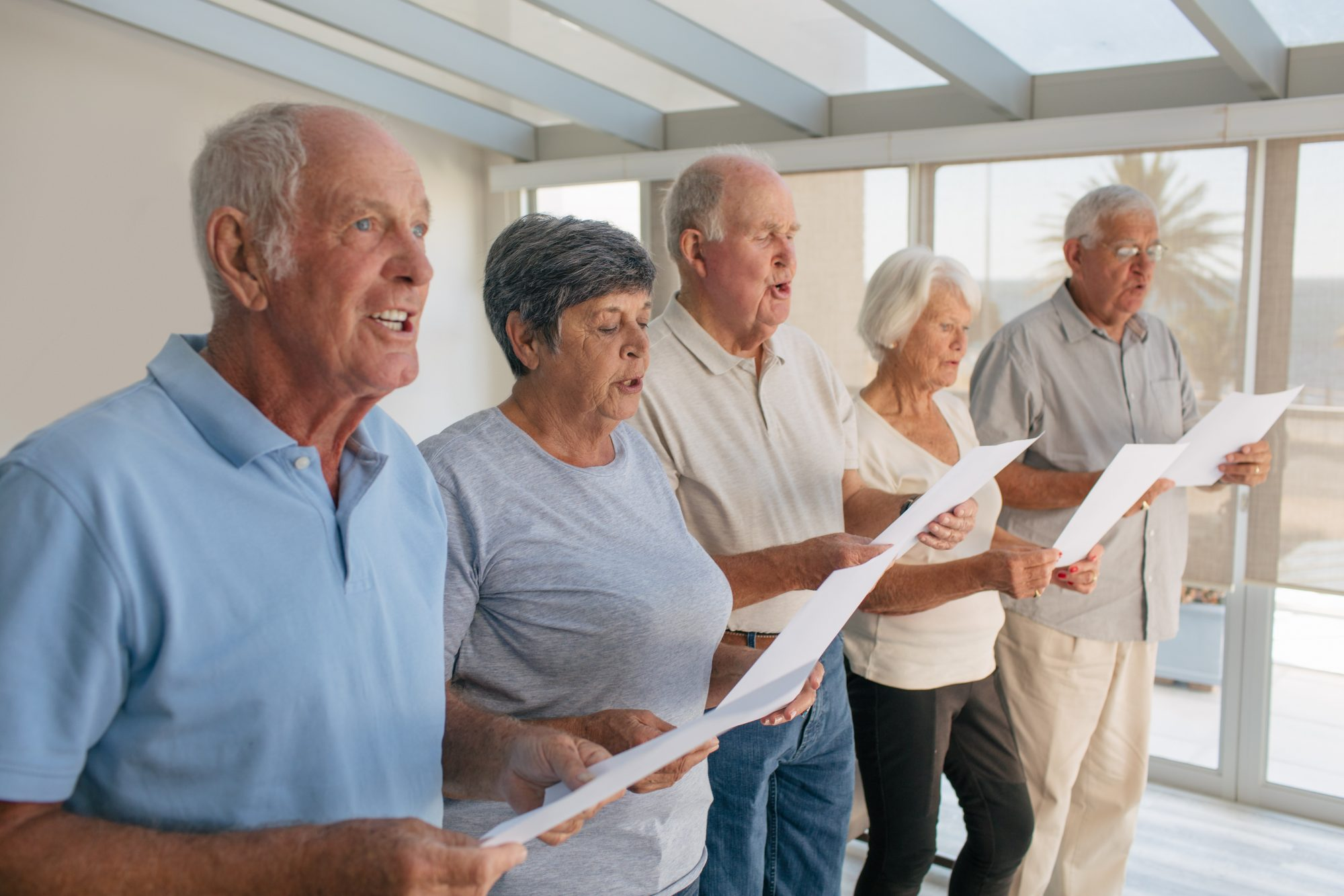 Study Finds Joining a Choir Improves Life for Lonely Older Adults