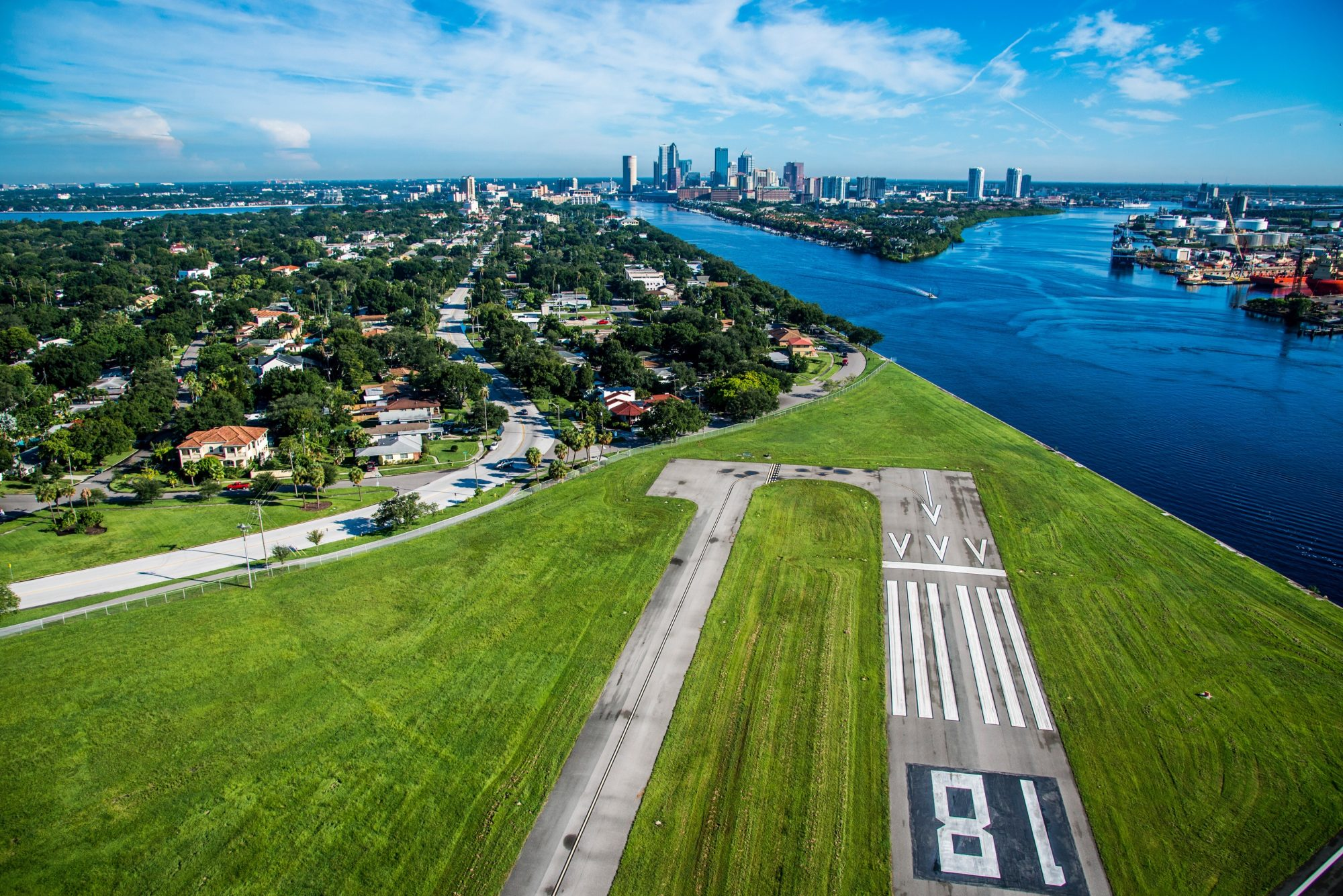 Tampa from Above