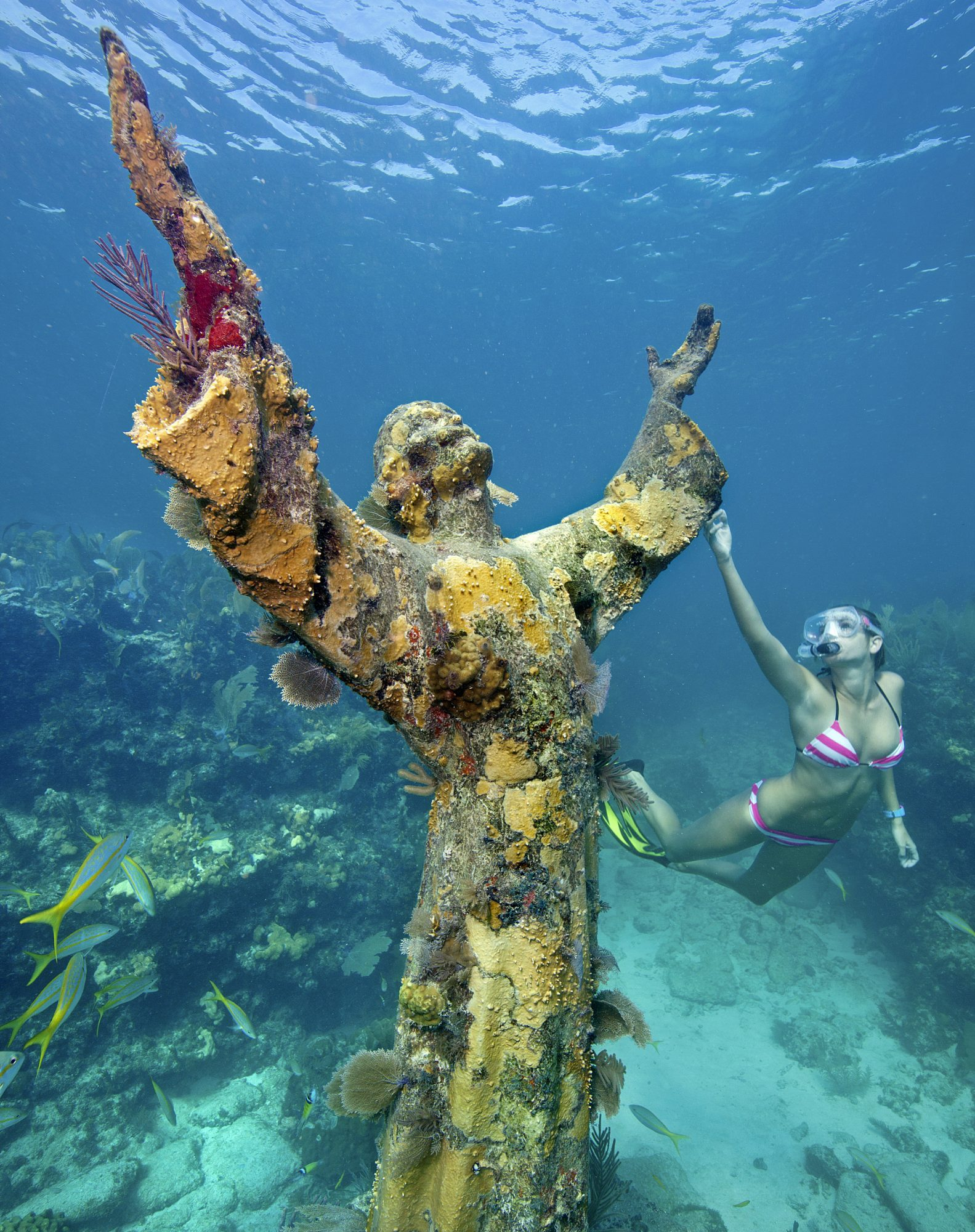 This Easter, Snorkel with Jesus in the Florida Keys