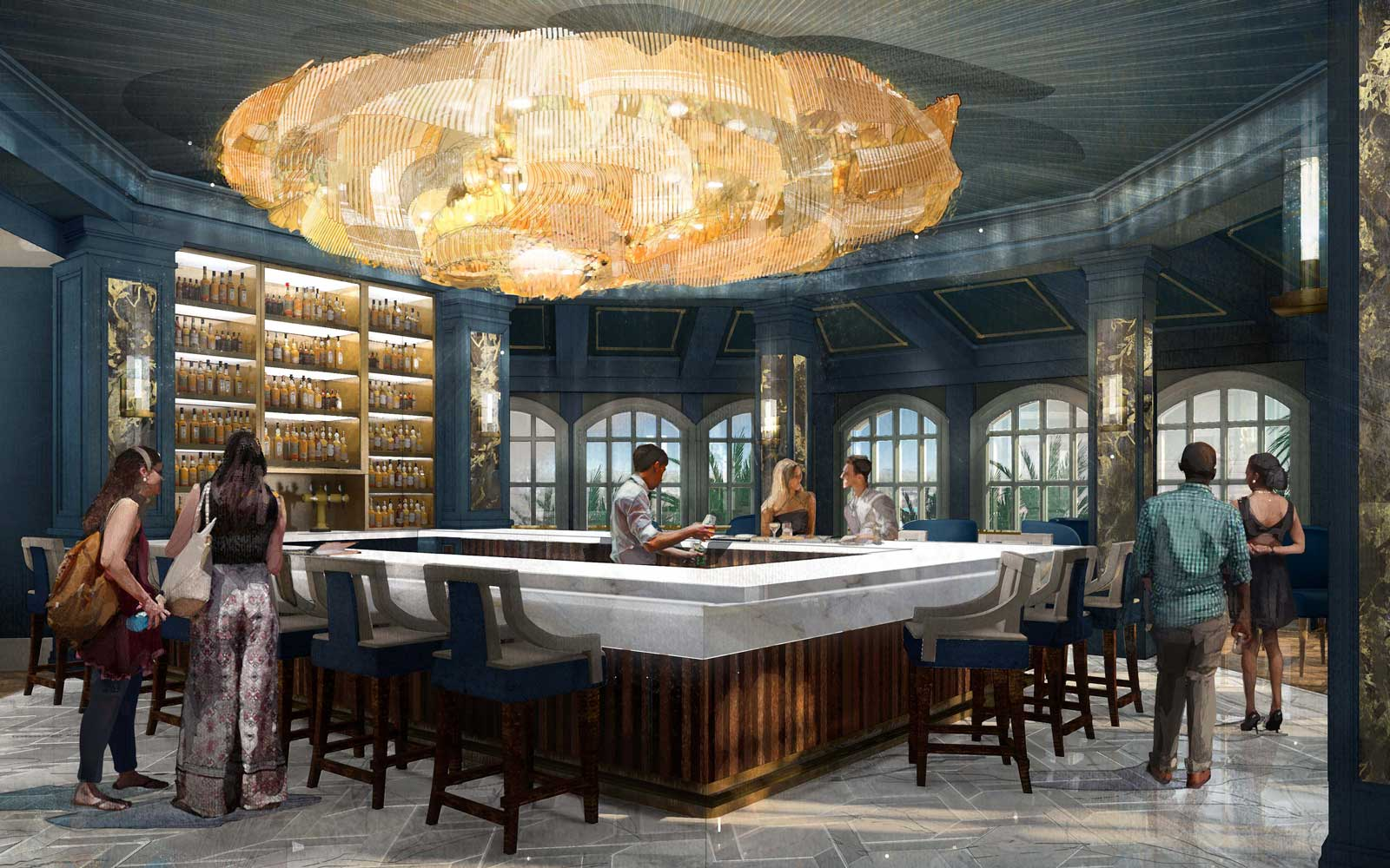 A 'Beauty and the Beast' Themed Bar Is Opening in Disney World