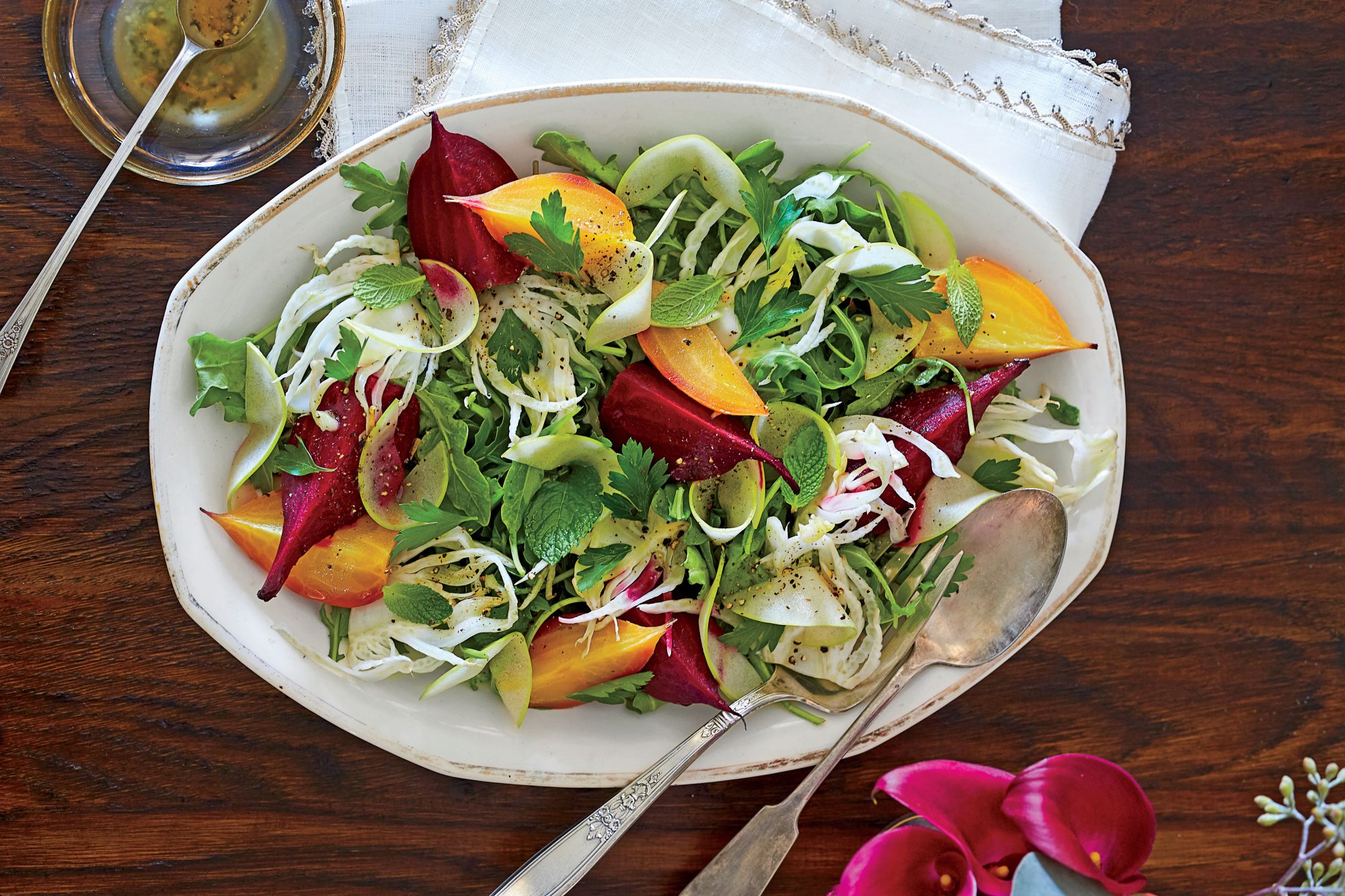 Beet, Fennel, and Apple Salad