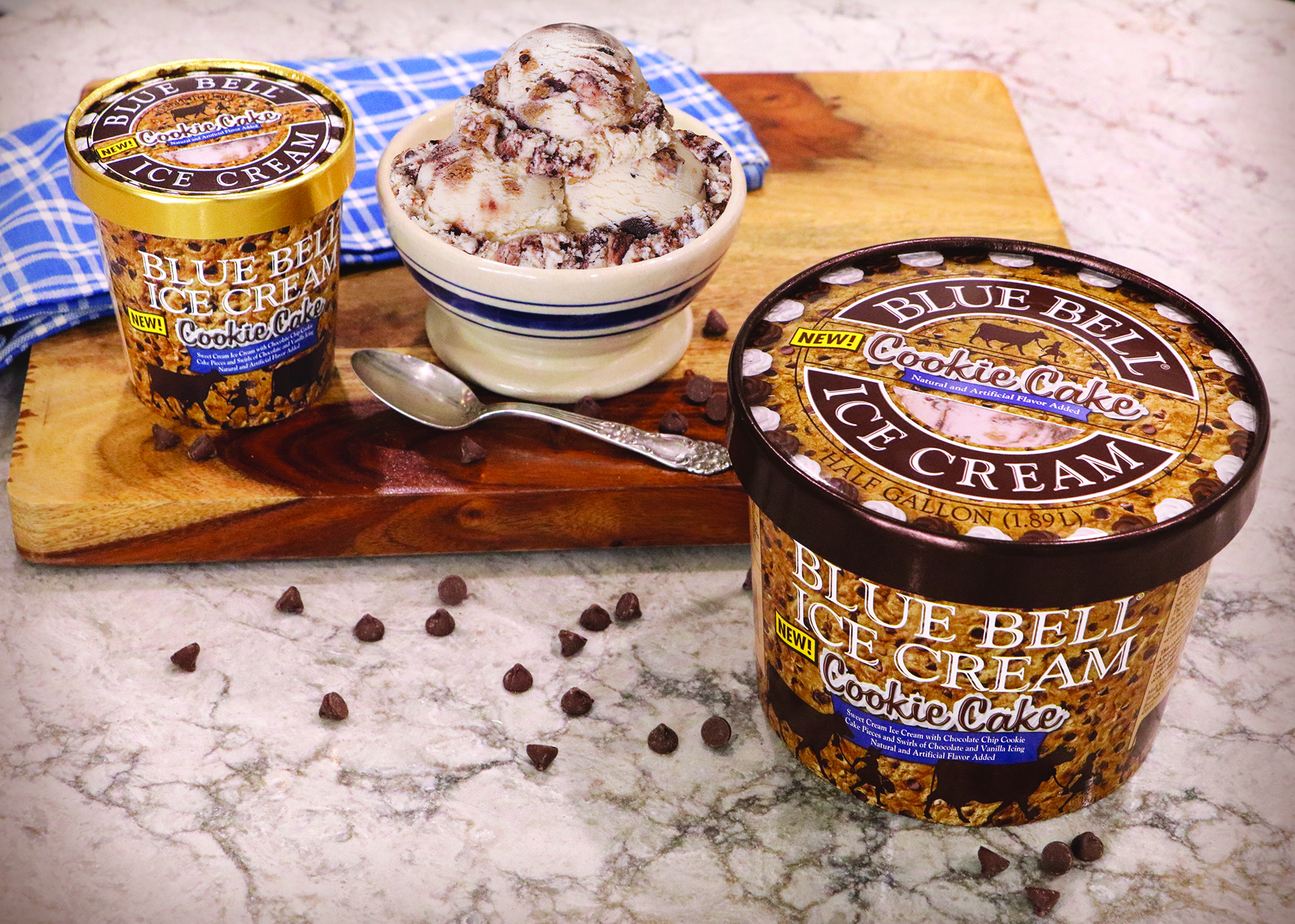 Blue Bell Cookie Cake