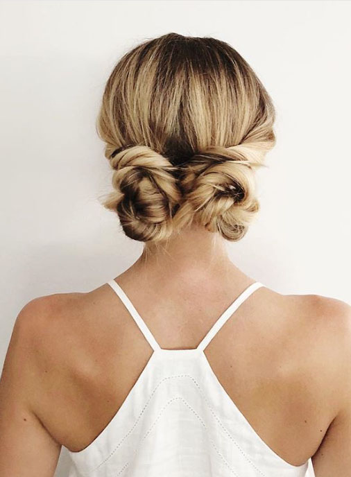 Twist Into Double Buns