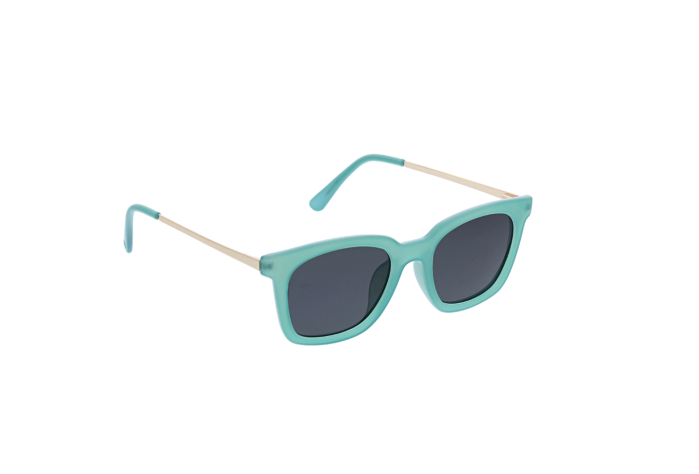 Endless Summer Polarized Sunglasses in Turquoise/Gold