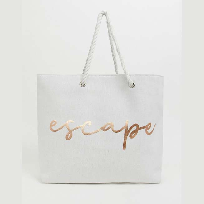 South Beach Escape Beach Bag