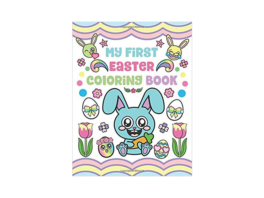 RX_1904 Easter Coloring Pages_My First Easter Coloring Book