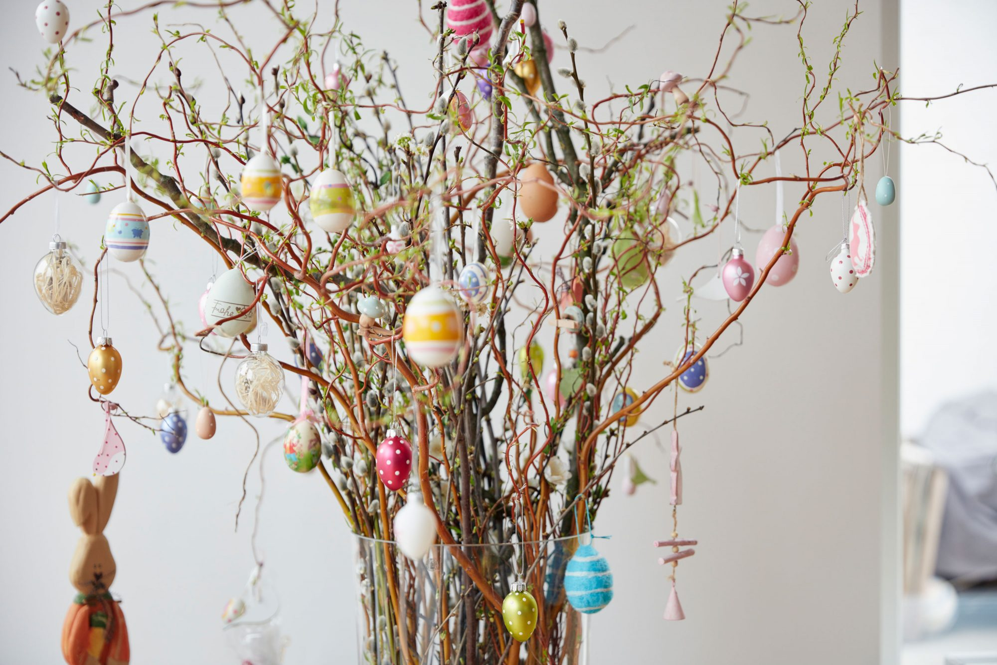Homemade Easter Egg Tree