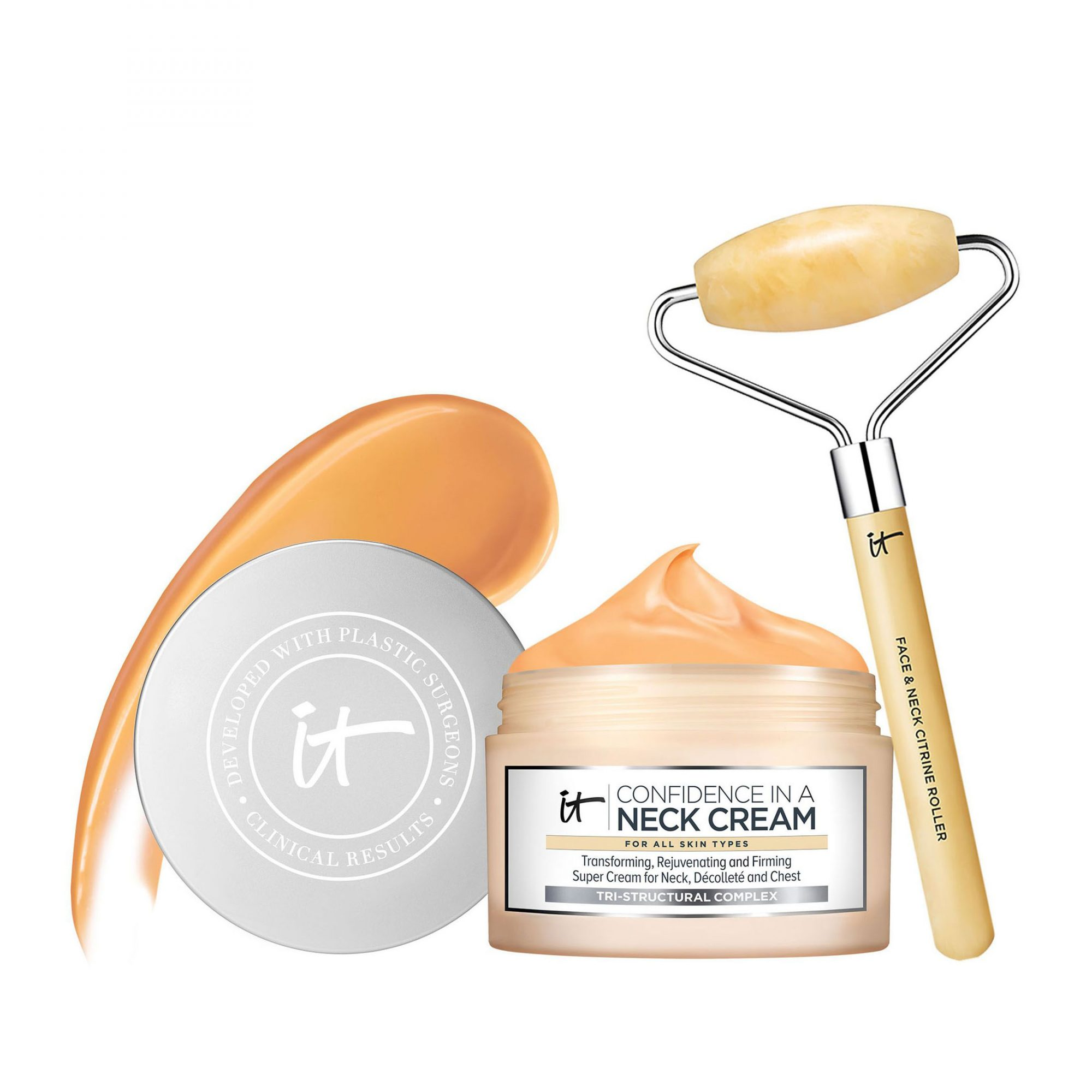 IT Cosmetics Confidence in a Neck Cream Super Cream with Luxe Tool